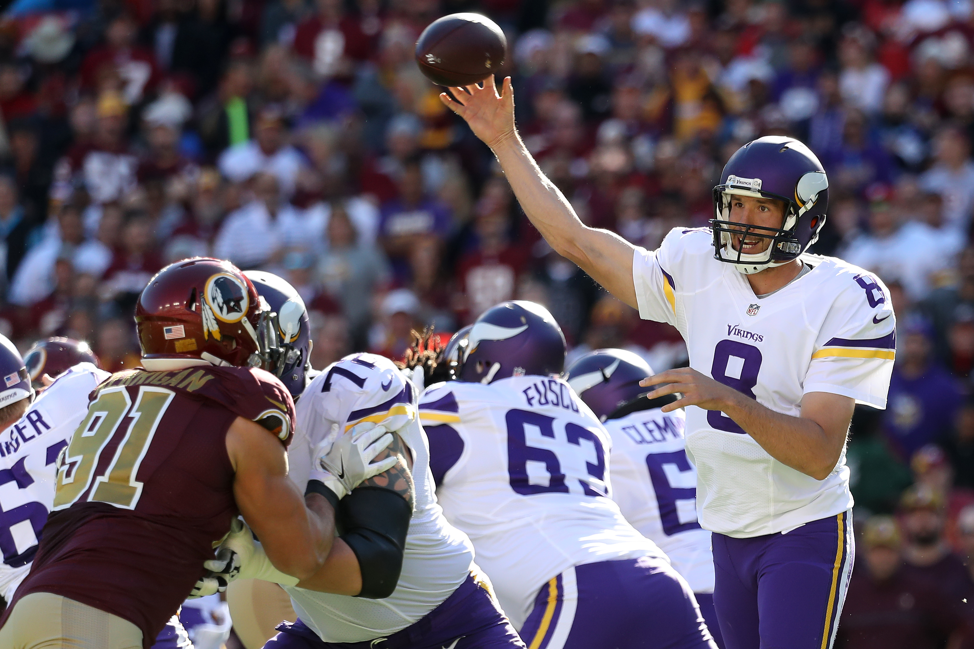 Minnesota Vikings 53 man roster offense projection: Pre-training camp