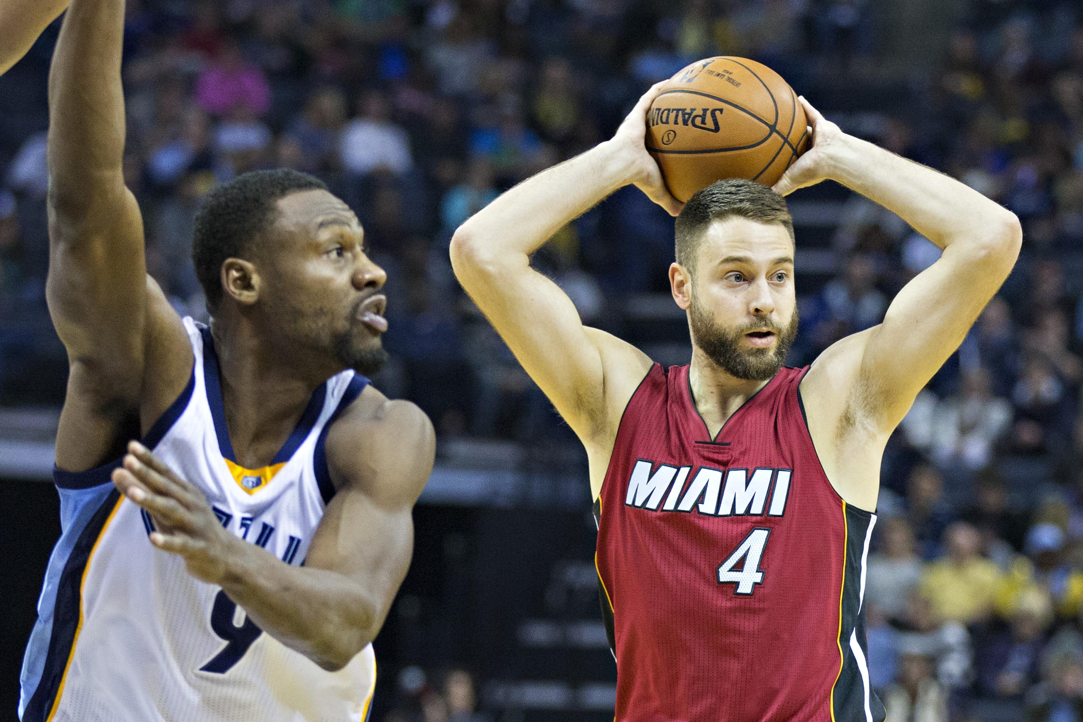 Heat Trade McRoberts For Dallas Center AJ Hammons