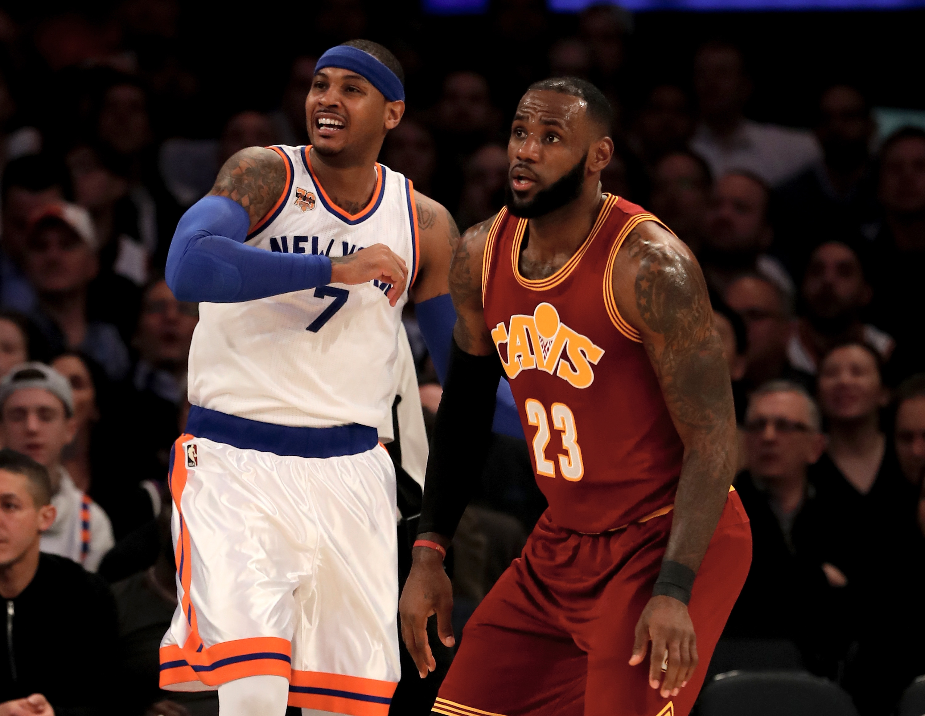 Knicks, Rockets working on Carmelo Anthony trade including 4-team deal
