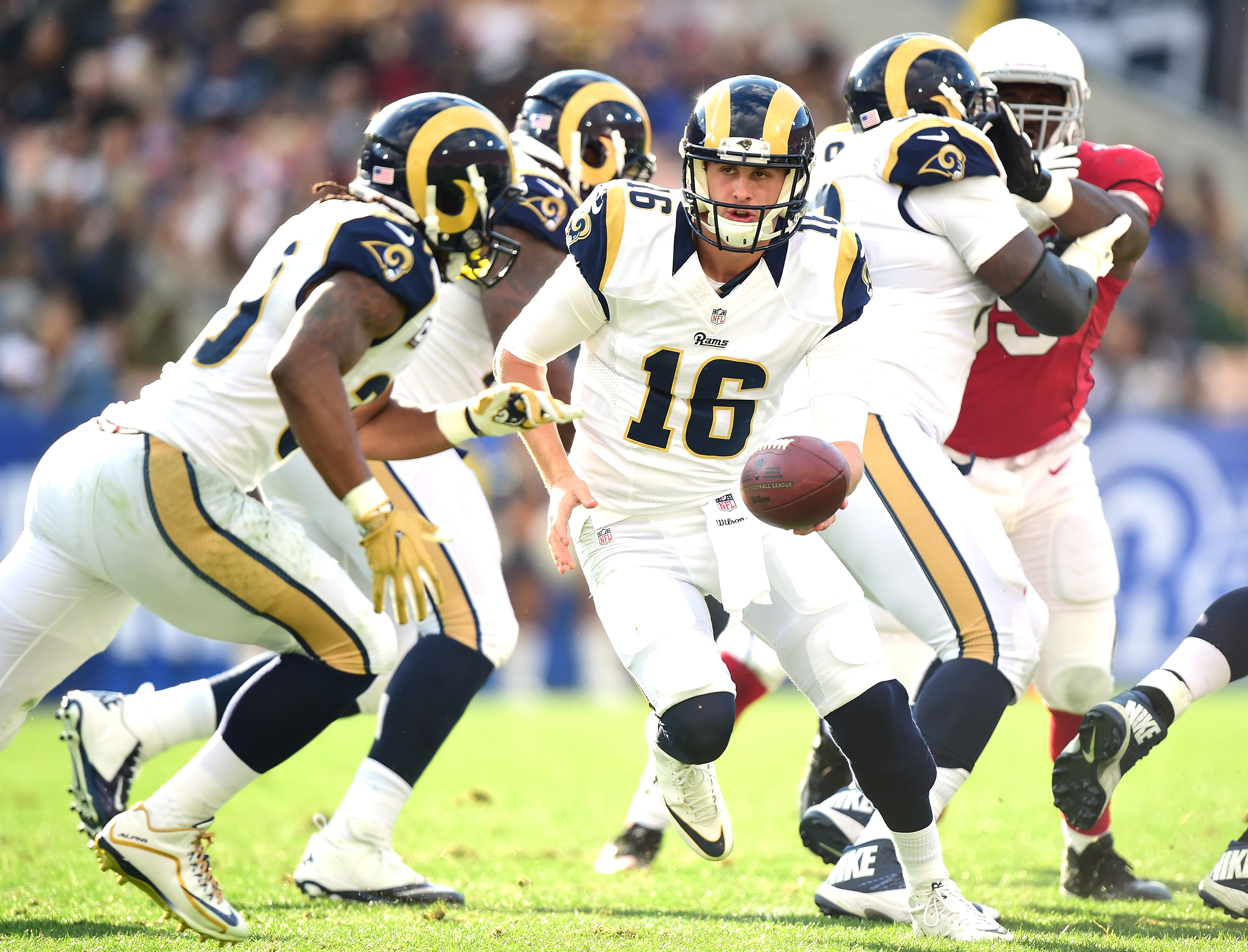 Los Angeles Rams Jared Goff S Case For Being Starting Qb