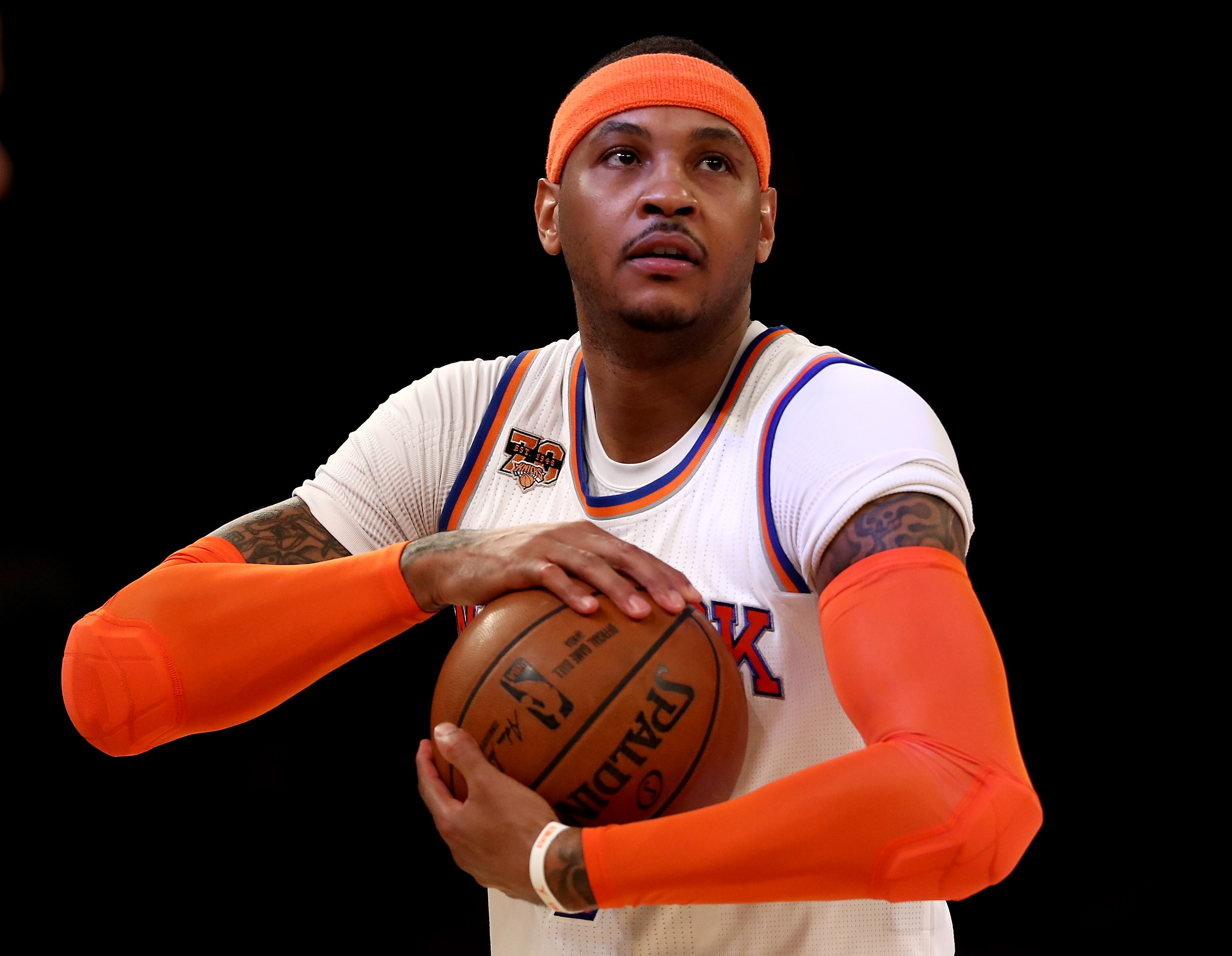 Knicks pause Carmelo Anthony trade talks