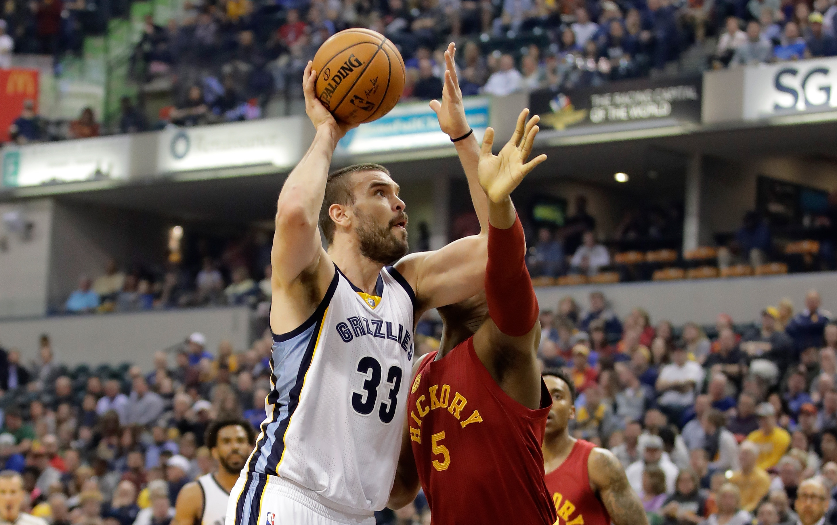 INDIANAPOLIS IN – FEBRUARY 24 Marc Gasol