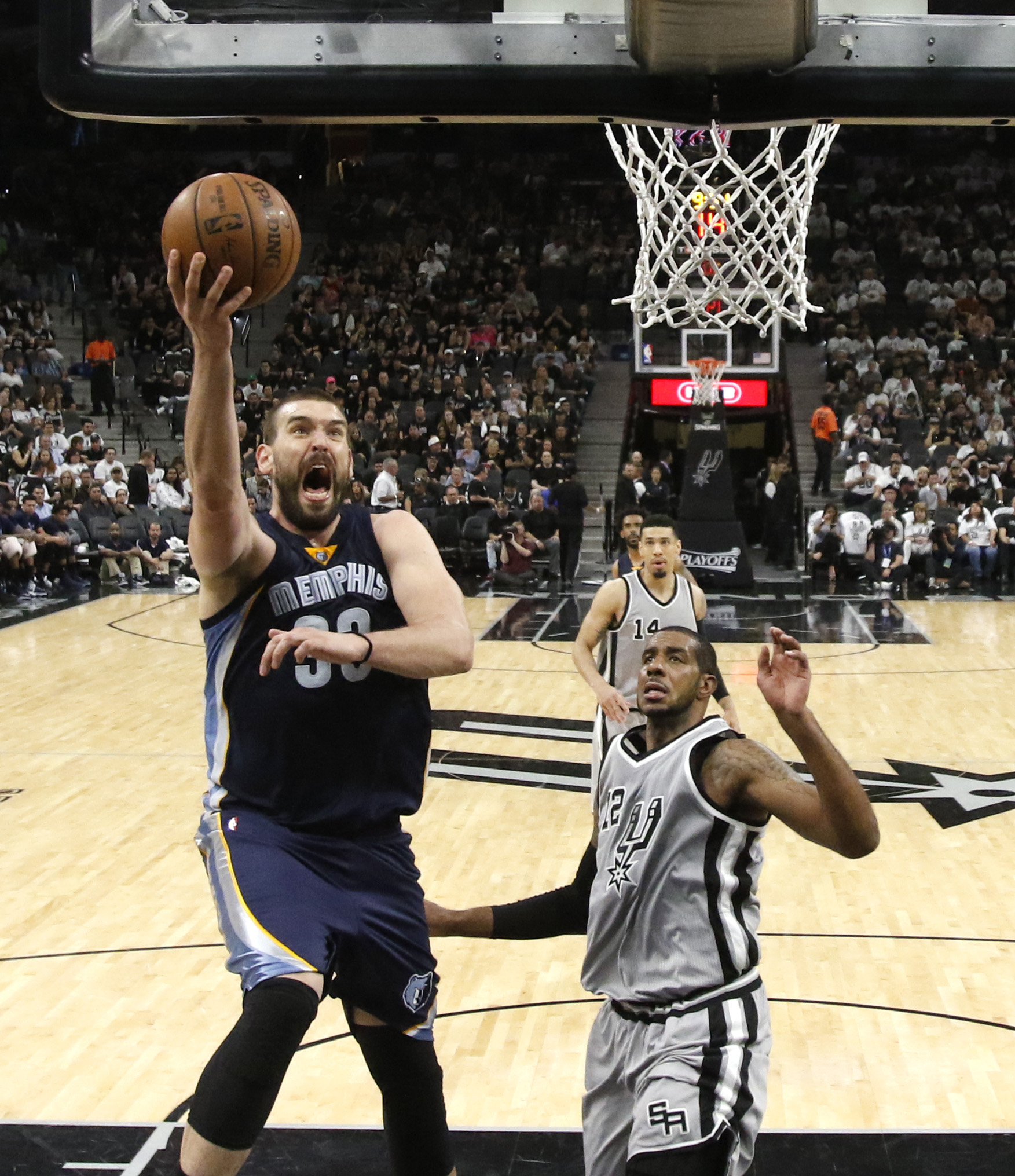 SAN ANTONIO,TX – APRIL 15: Marc Gasol