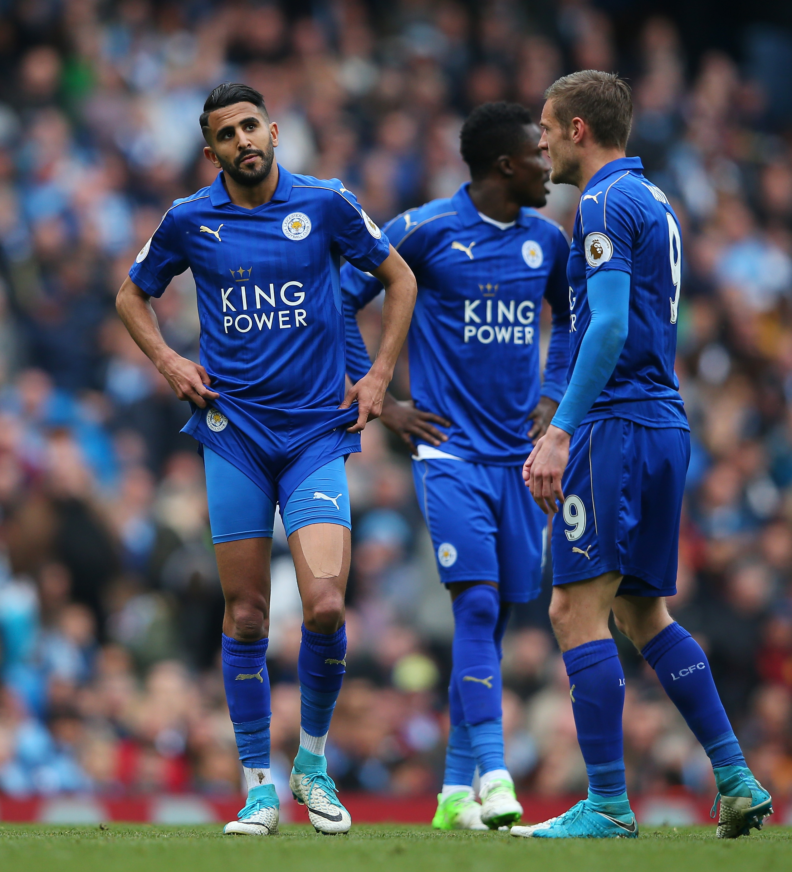 Leicester stage Riyad Mahrez summit amid Arsenal interest