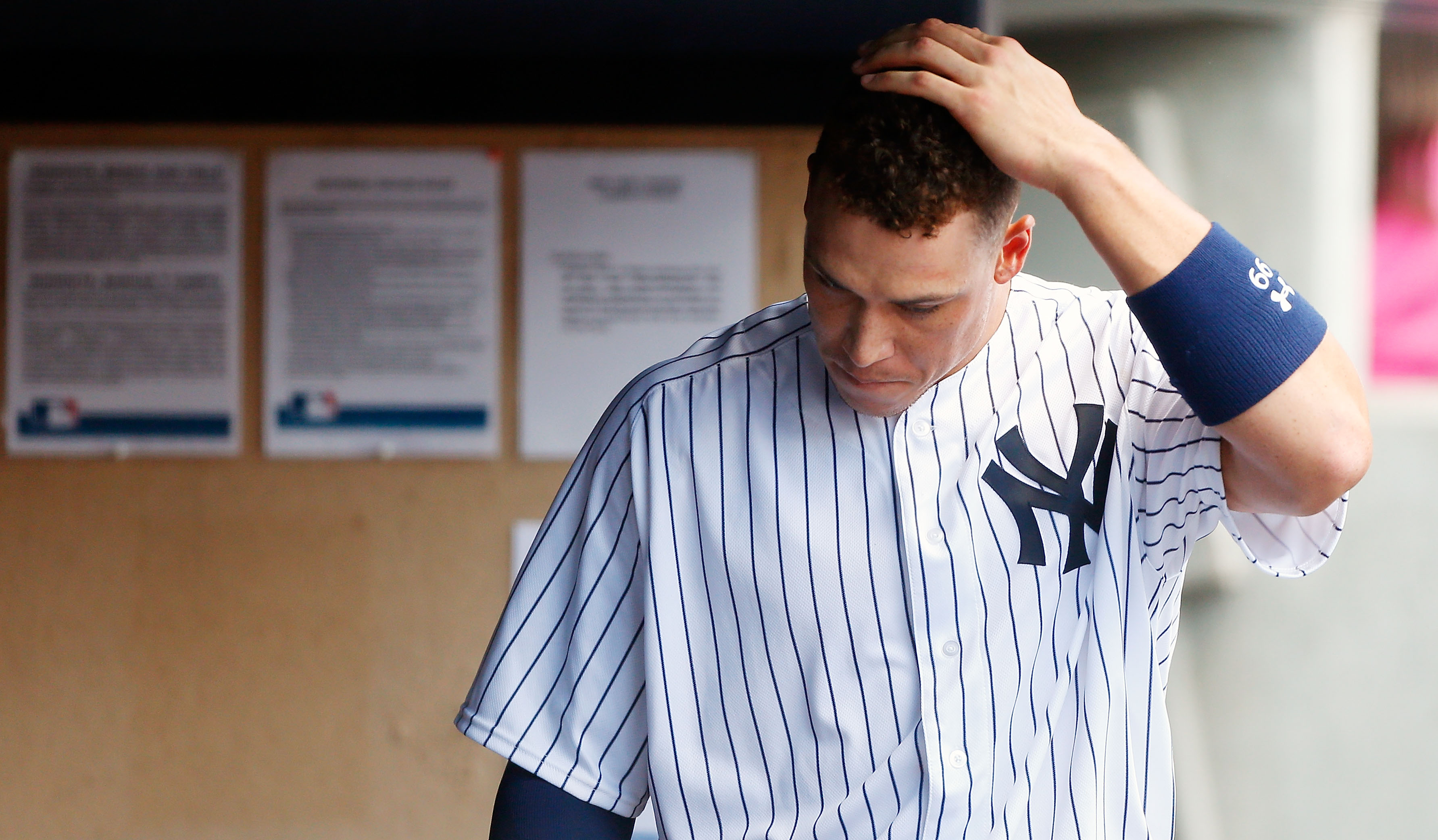 NEW YORK NY – JULY 09 Aaron Judge