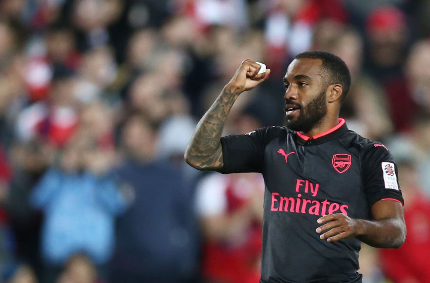 Gerrard sends message to Arsenal fans about Alexandre Lacazette