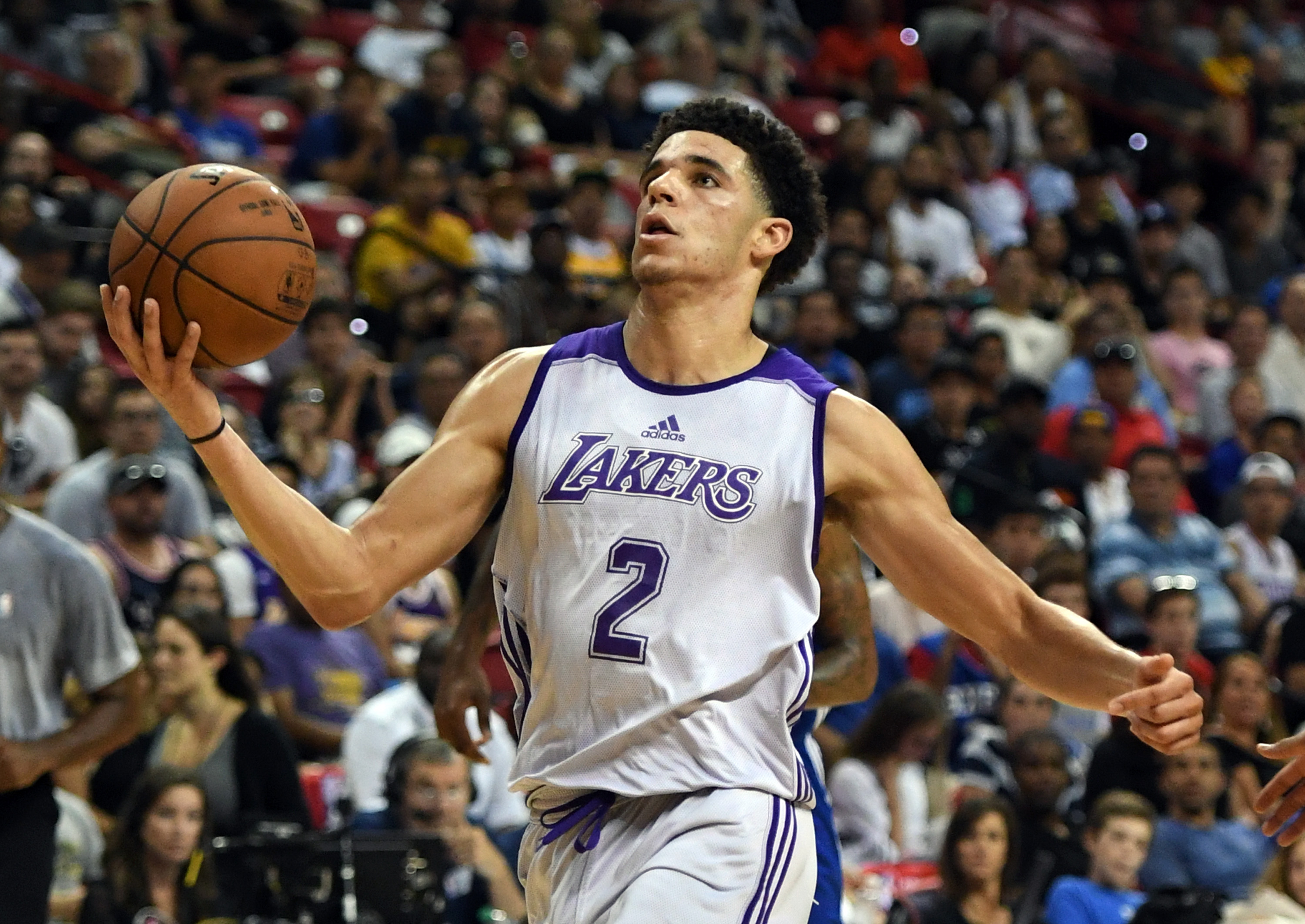 Lonzo Ball Notches Impressive Double-Double in Win vs. 76ers
