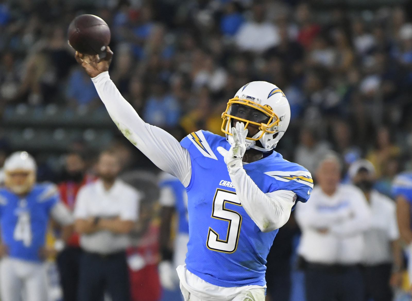 Los Angeles Chargers still solid at quarterback after Philip Rivers departure