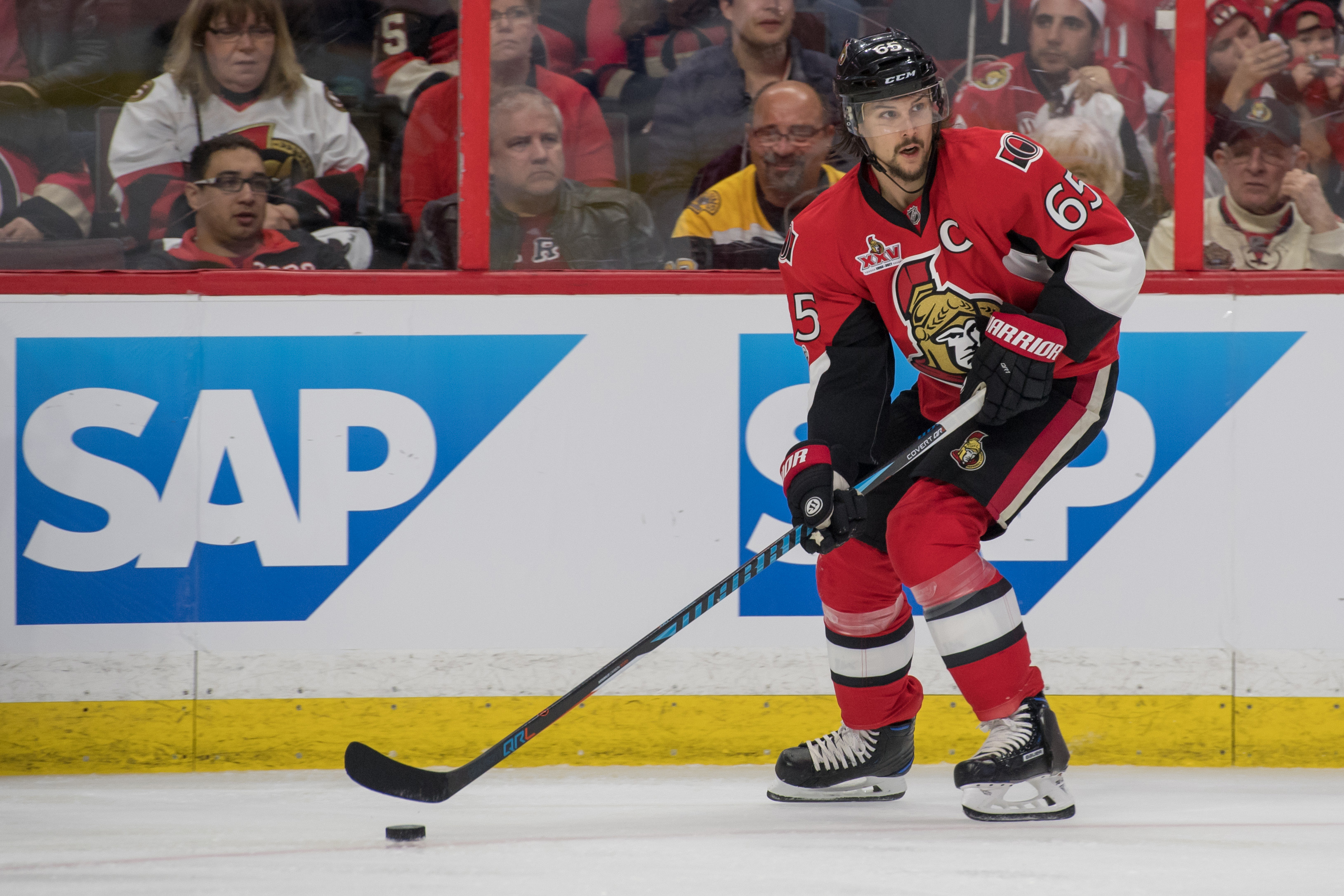 NHL PLAYOFFS: Senators outlast Bruins to take series lead