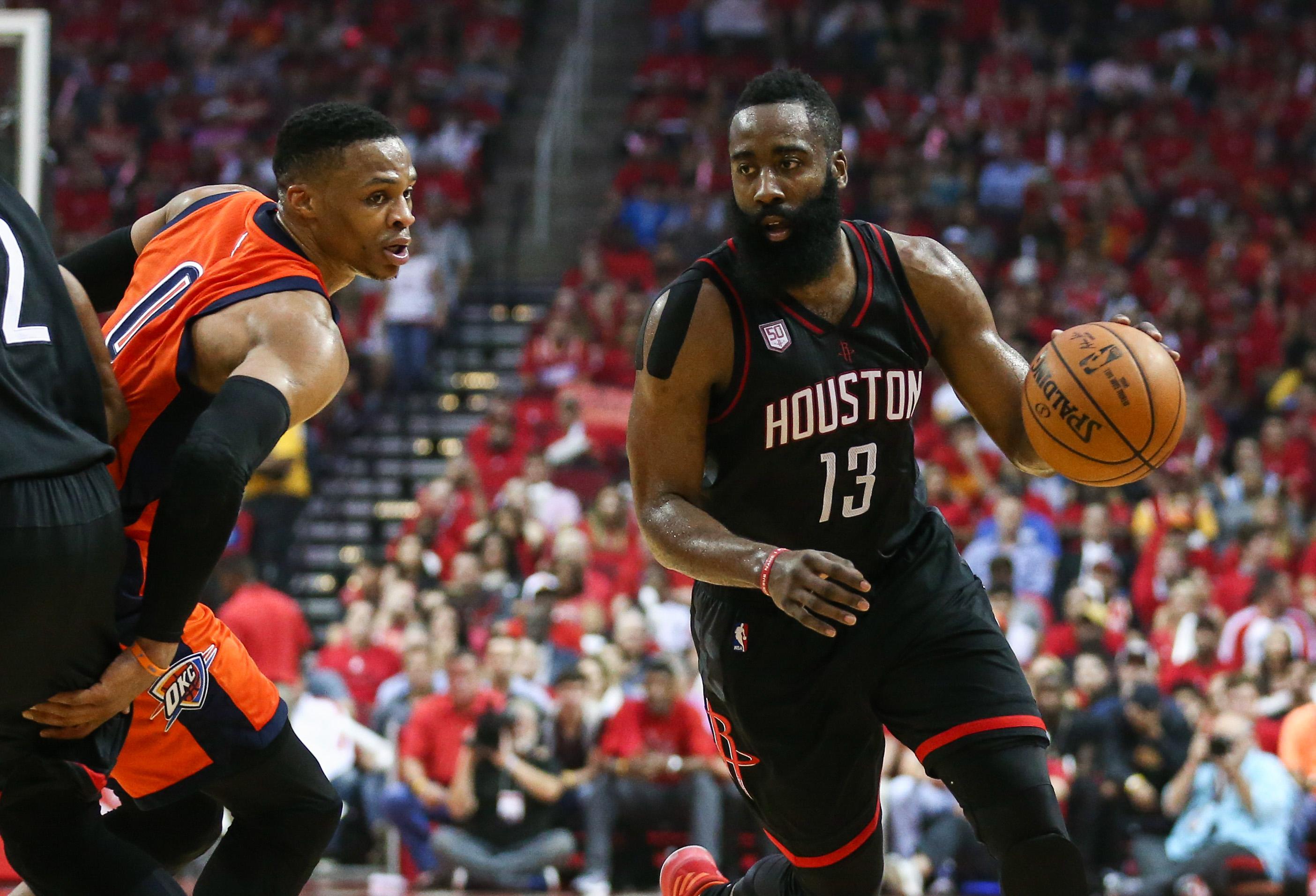 Houston Rockets Vs. Oklahoma City Thunder: 1st Round Game ...