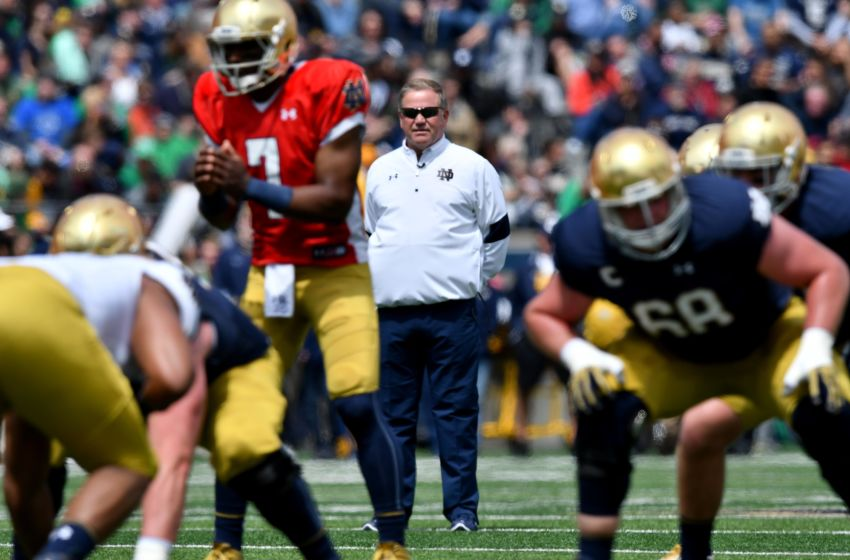 new college football game ncaa football notre dame