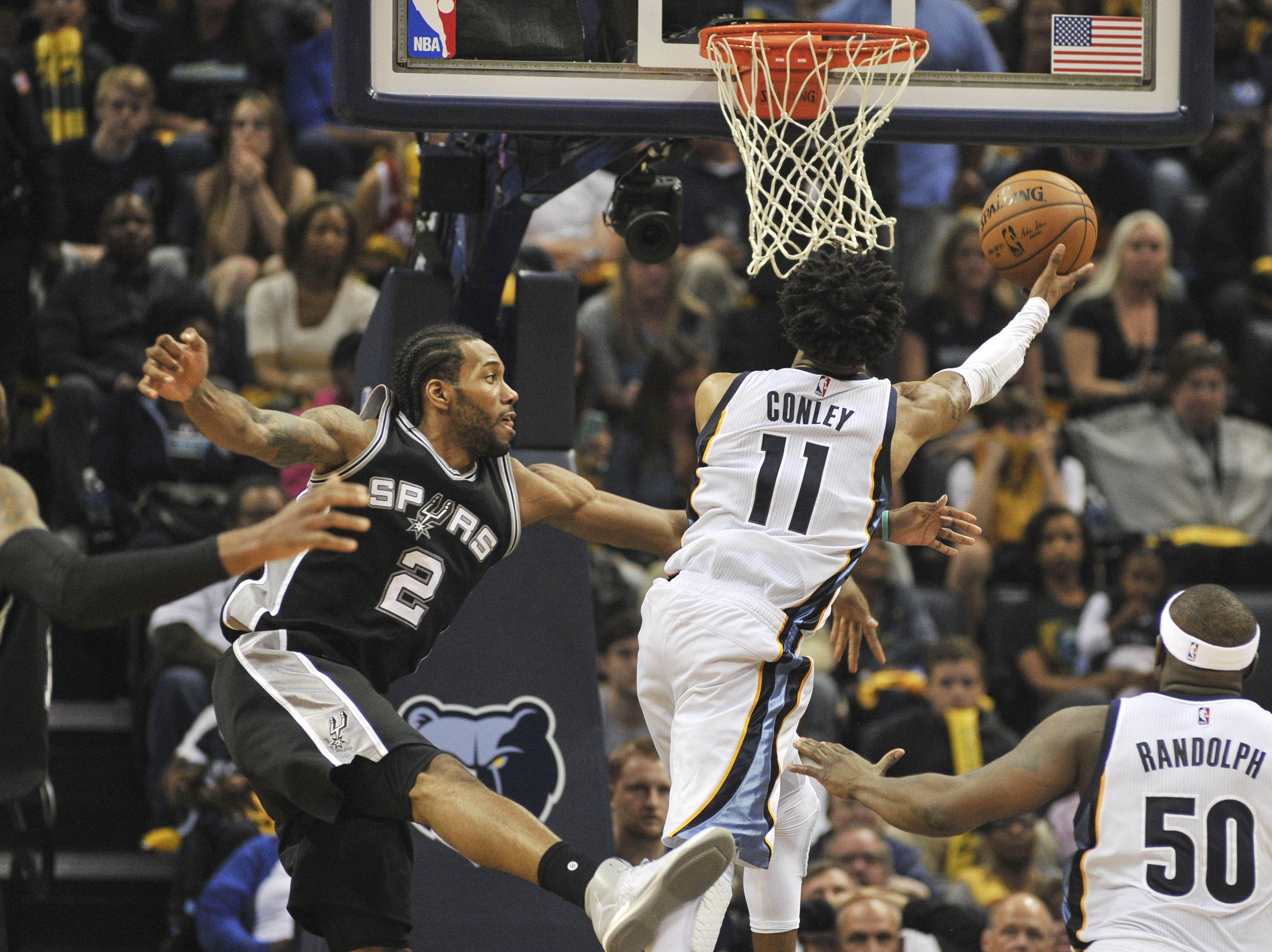 Spurs advance: San Antonio beats Grizzlies 103-96 in Game 6