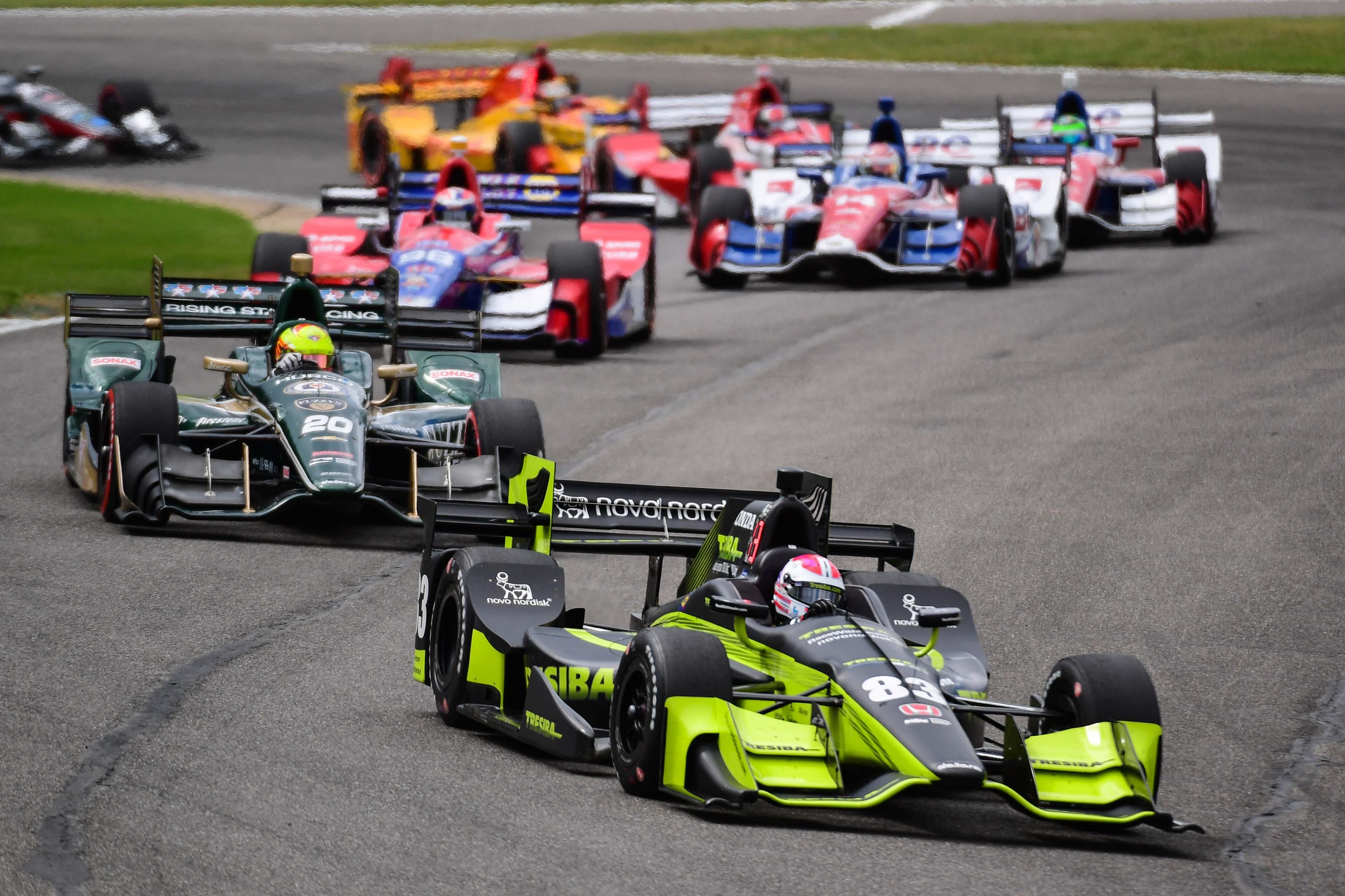 Power wins wild IndyCar race in Texas