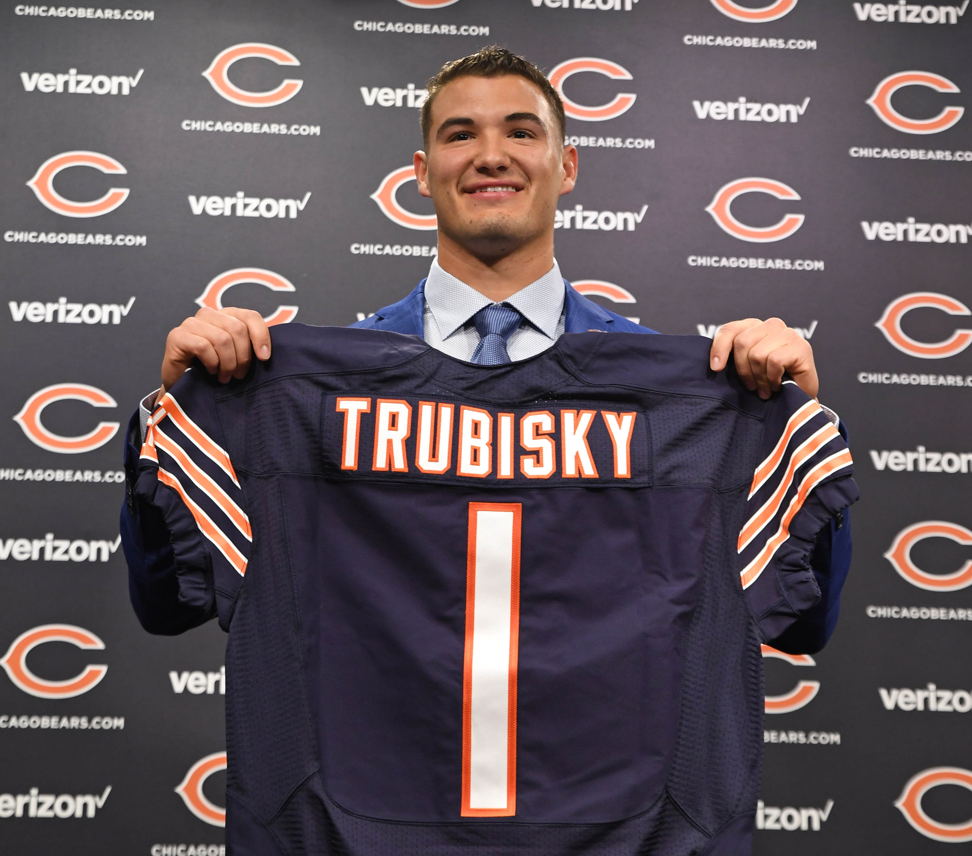 Chicago Bears announce jersey numbers for Mitch Trubisky ...
