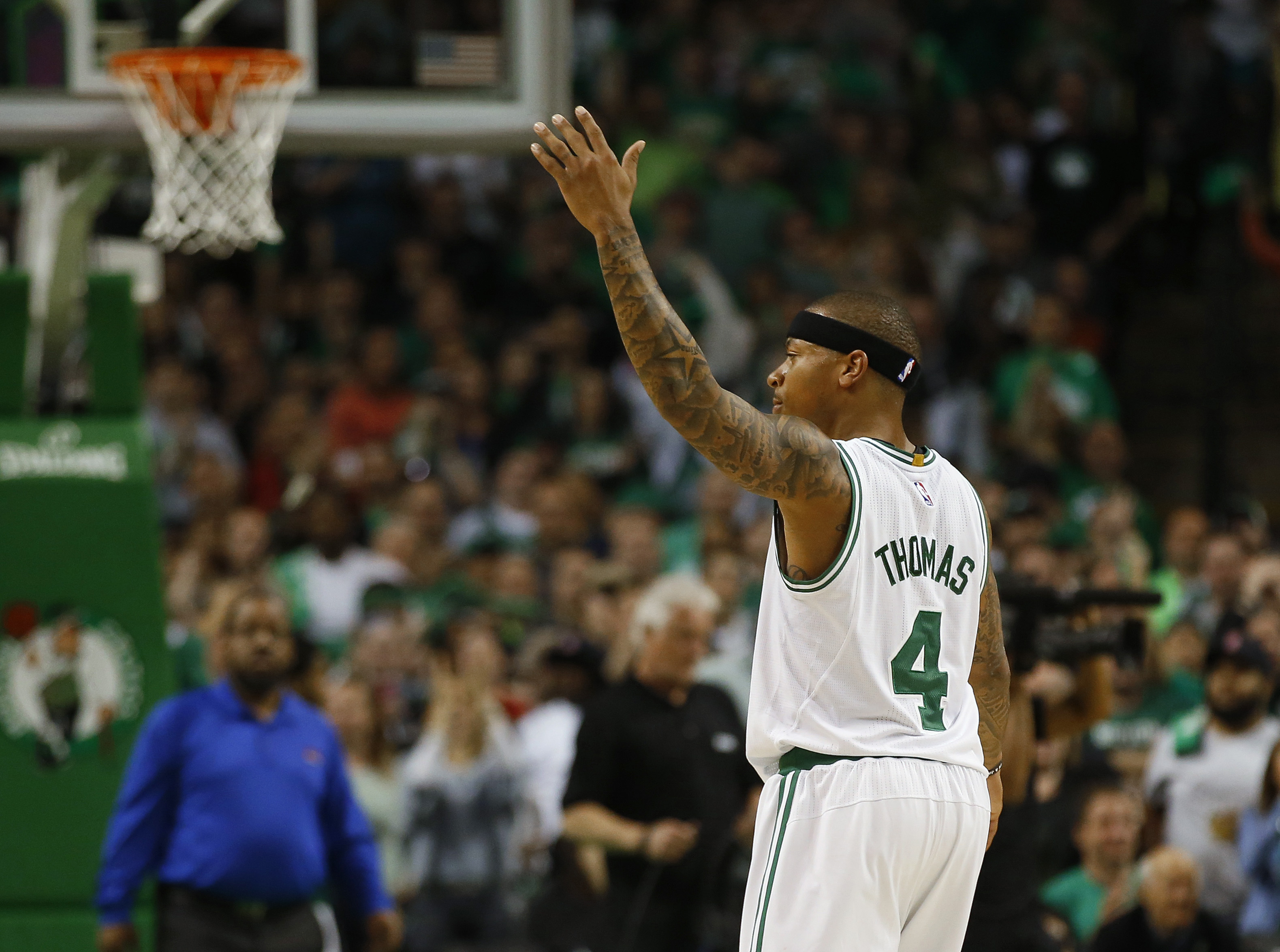 Thomas scores 53 to power Celtics over Wizards