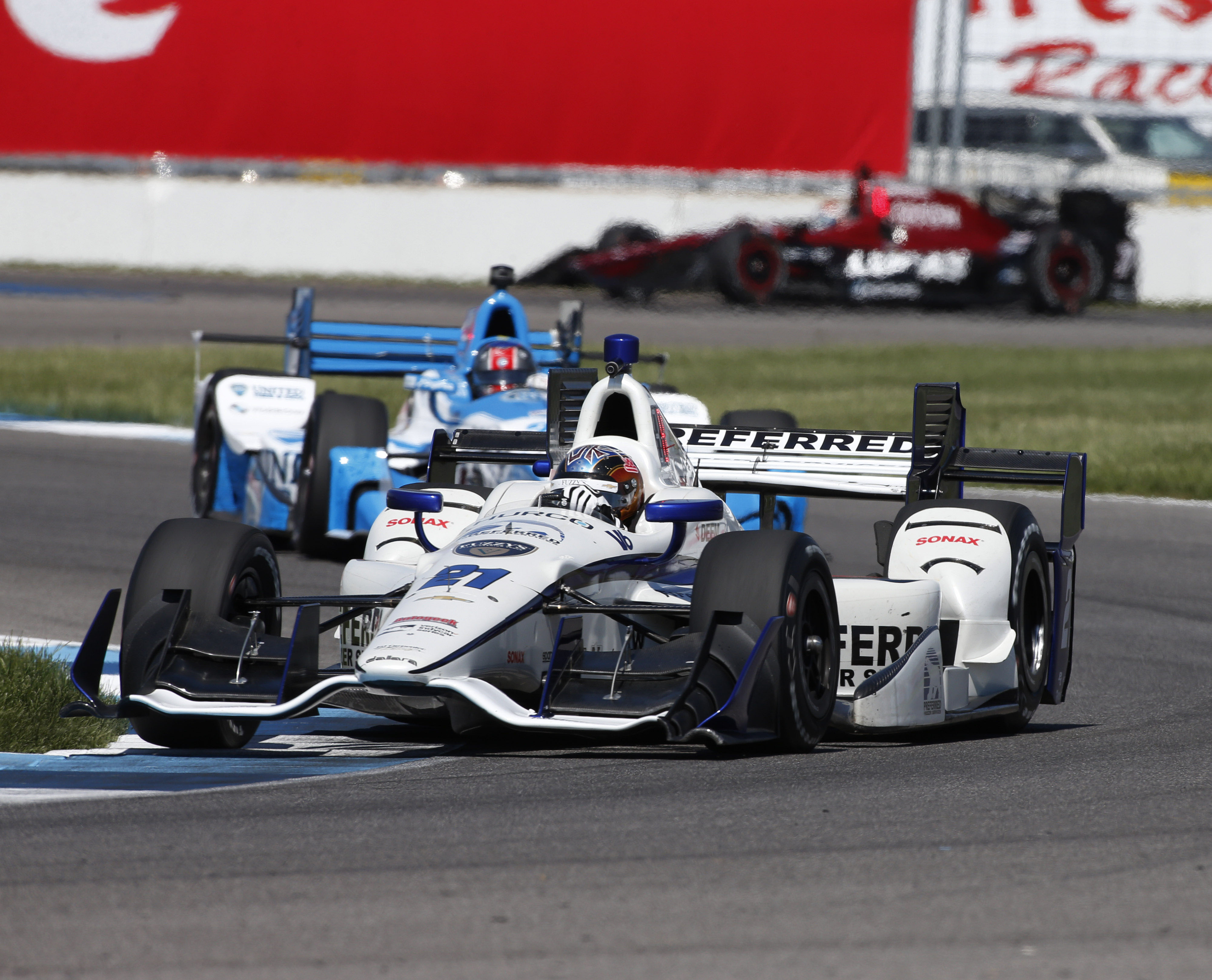 Rahal Earns Pole In Race 1