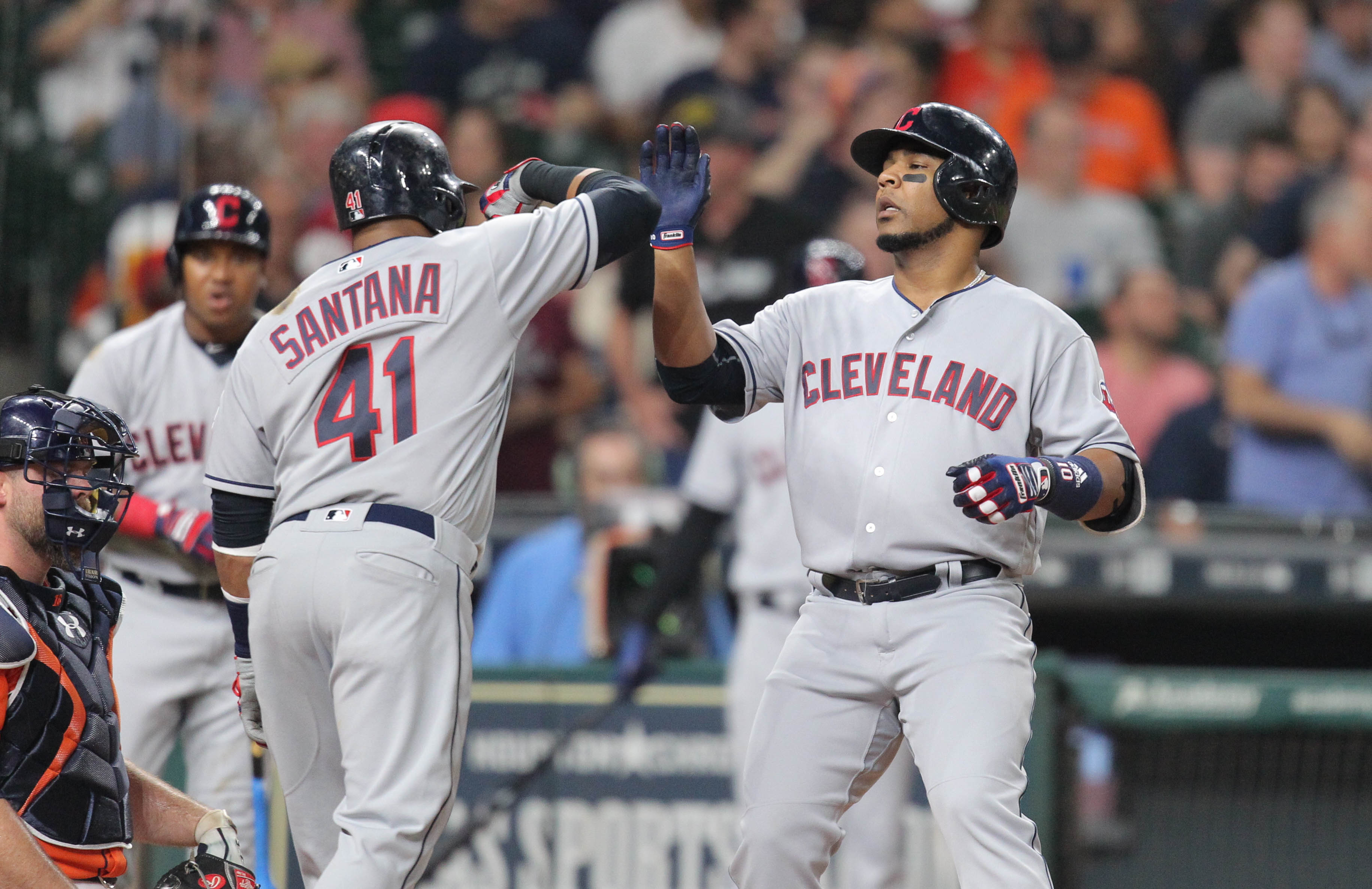 MLB Standings Indians Sweep Rangers Make Gains On Astros