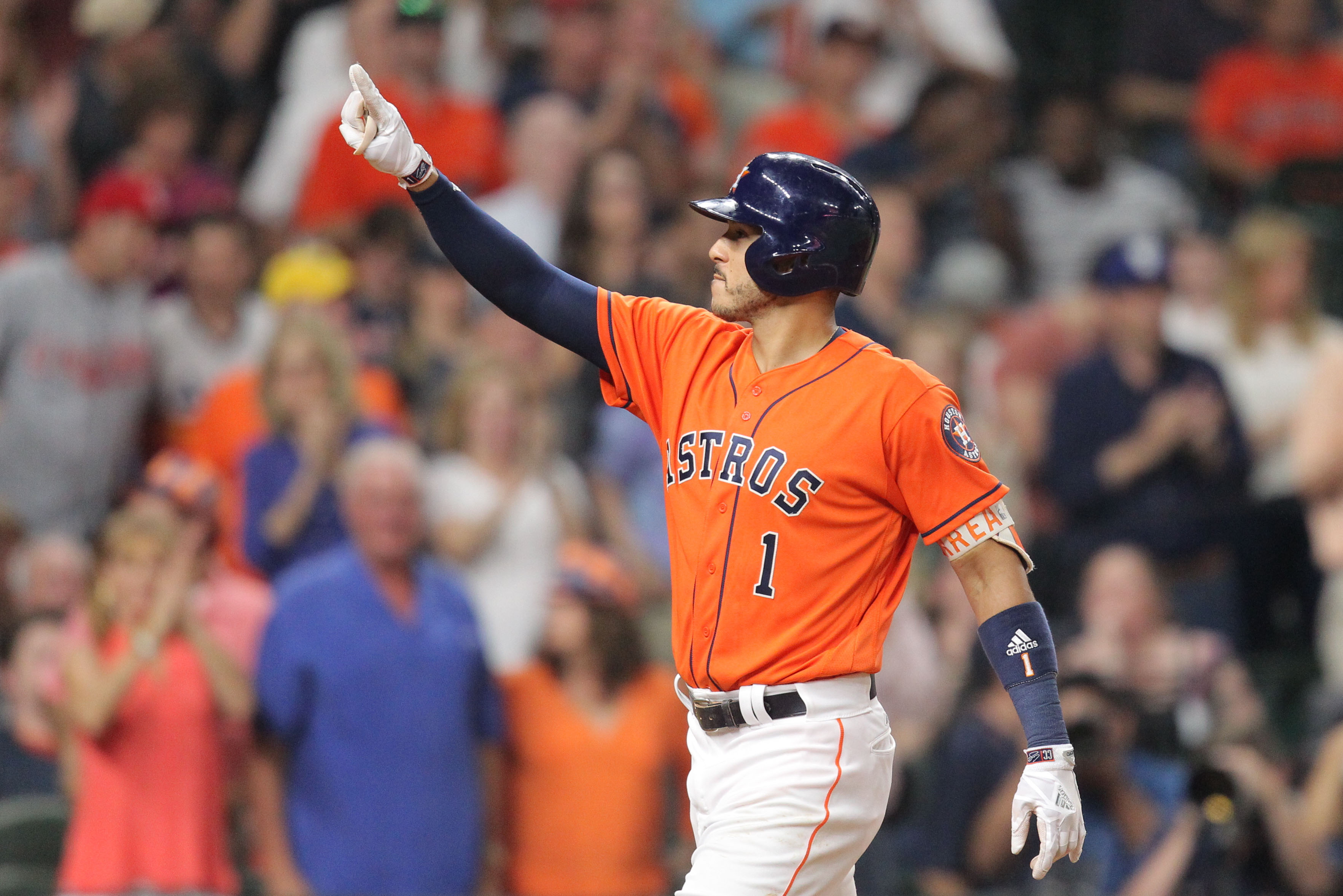 Houston Astros: Carlos Correa and Lance McCullers Jr. honored