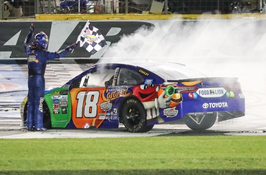 Nascar Winner Spotlight Kyle Busch Wins All Star Race