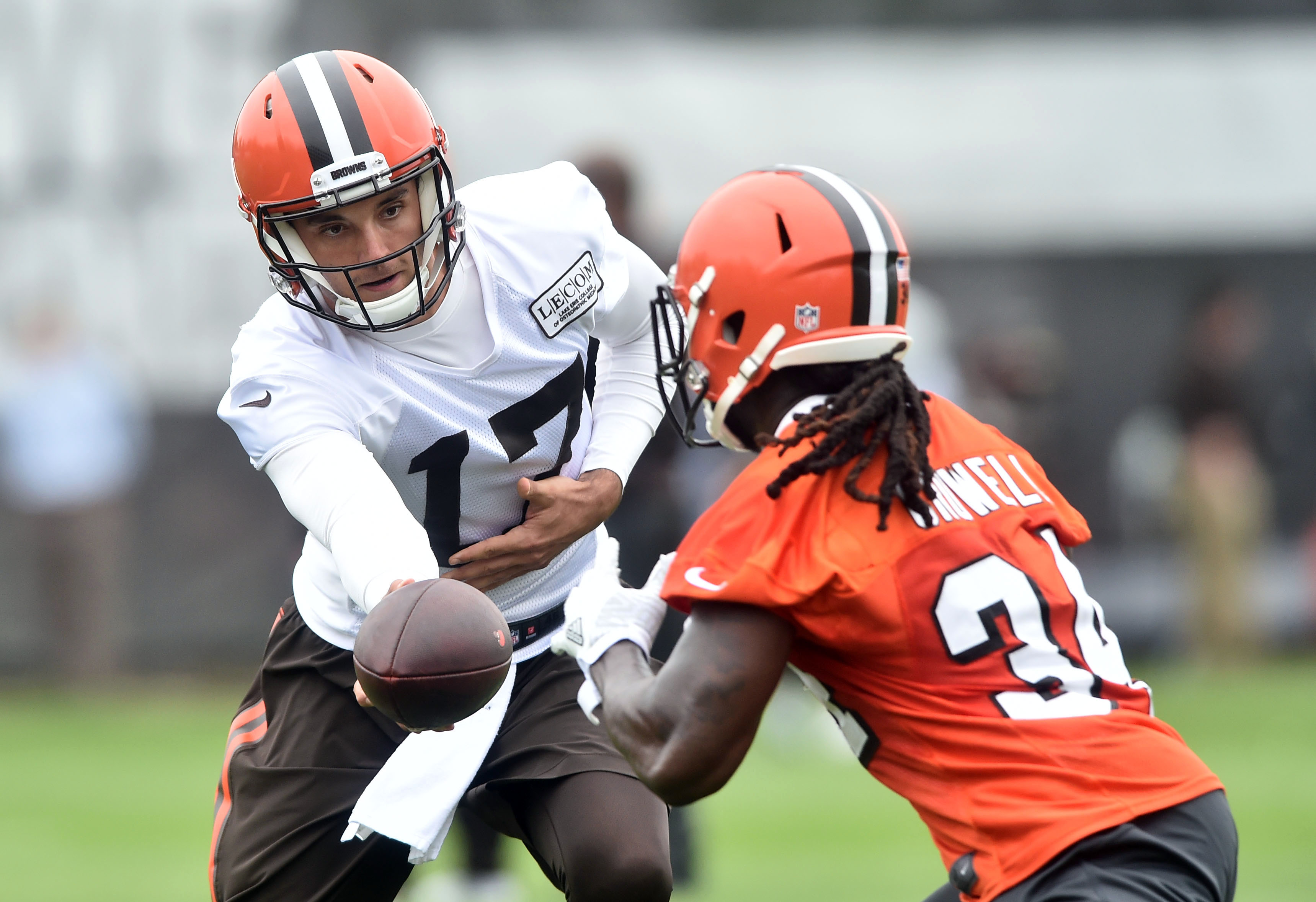 Cleveland Browns: Brock Osweiler isn't lacking confidence
