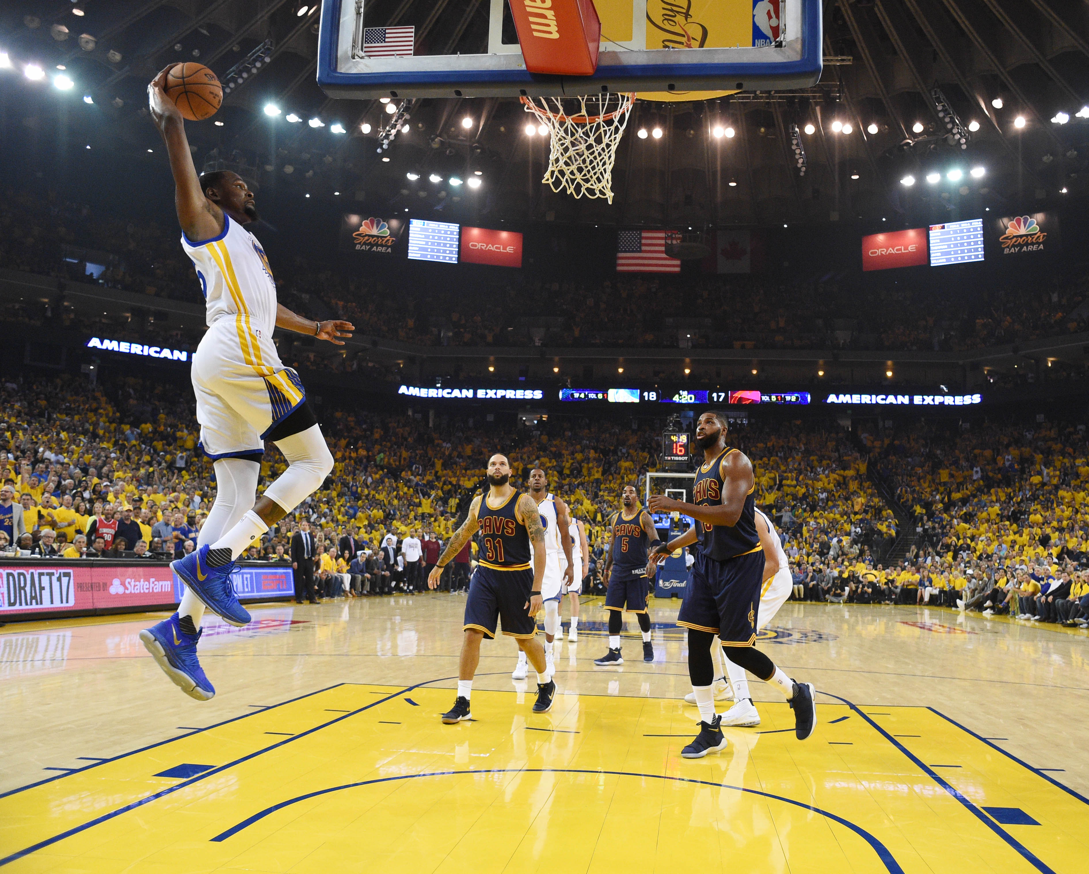2017 NBA Finals: Kevin Durant headlines Game 1 recap and ...