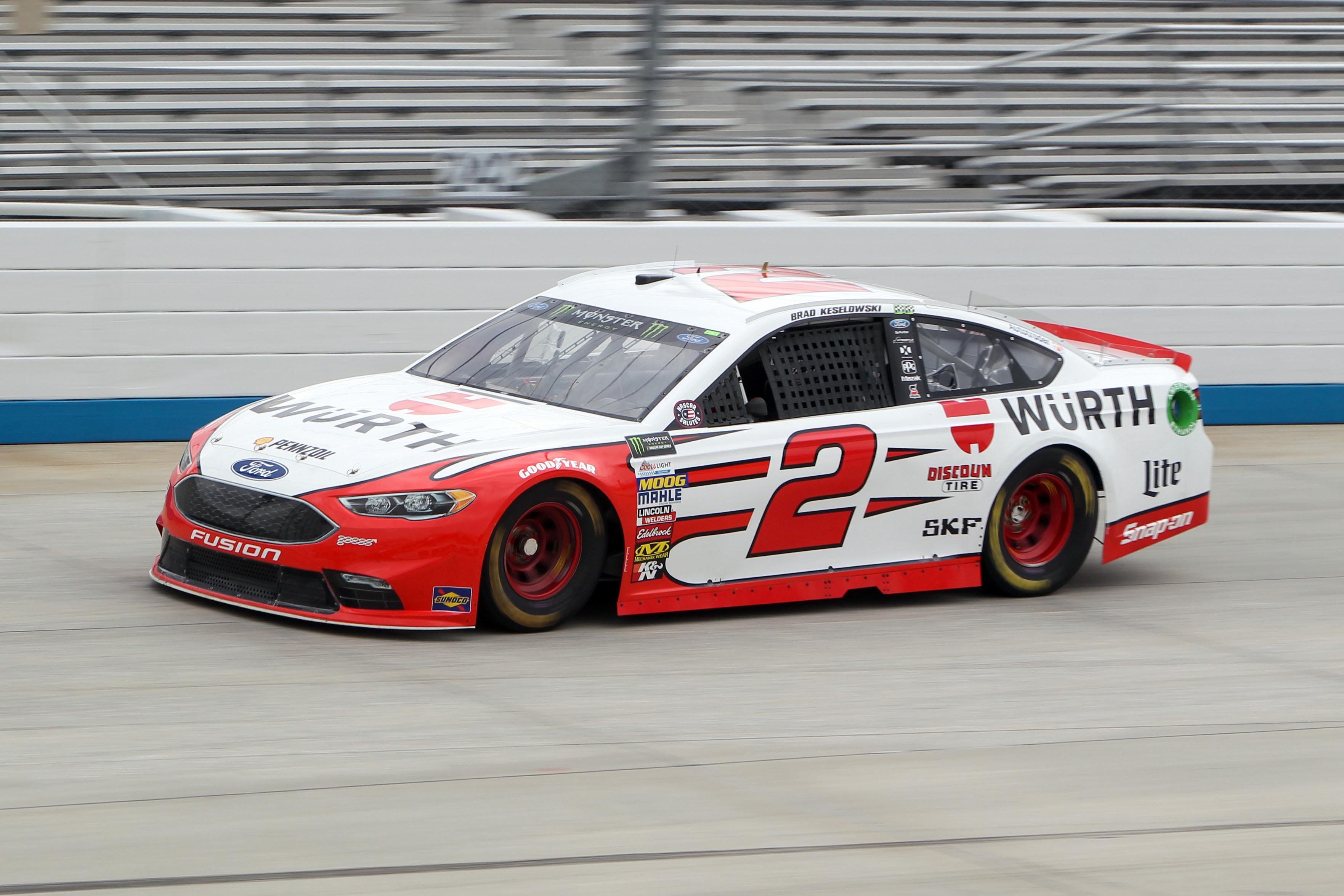 Ryan Blaney wins 1st career NASCAR Cup race at Pocono Raceway