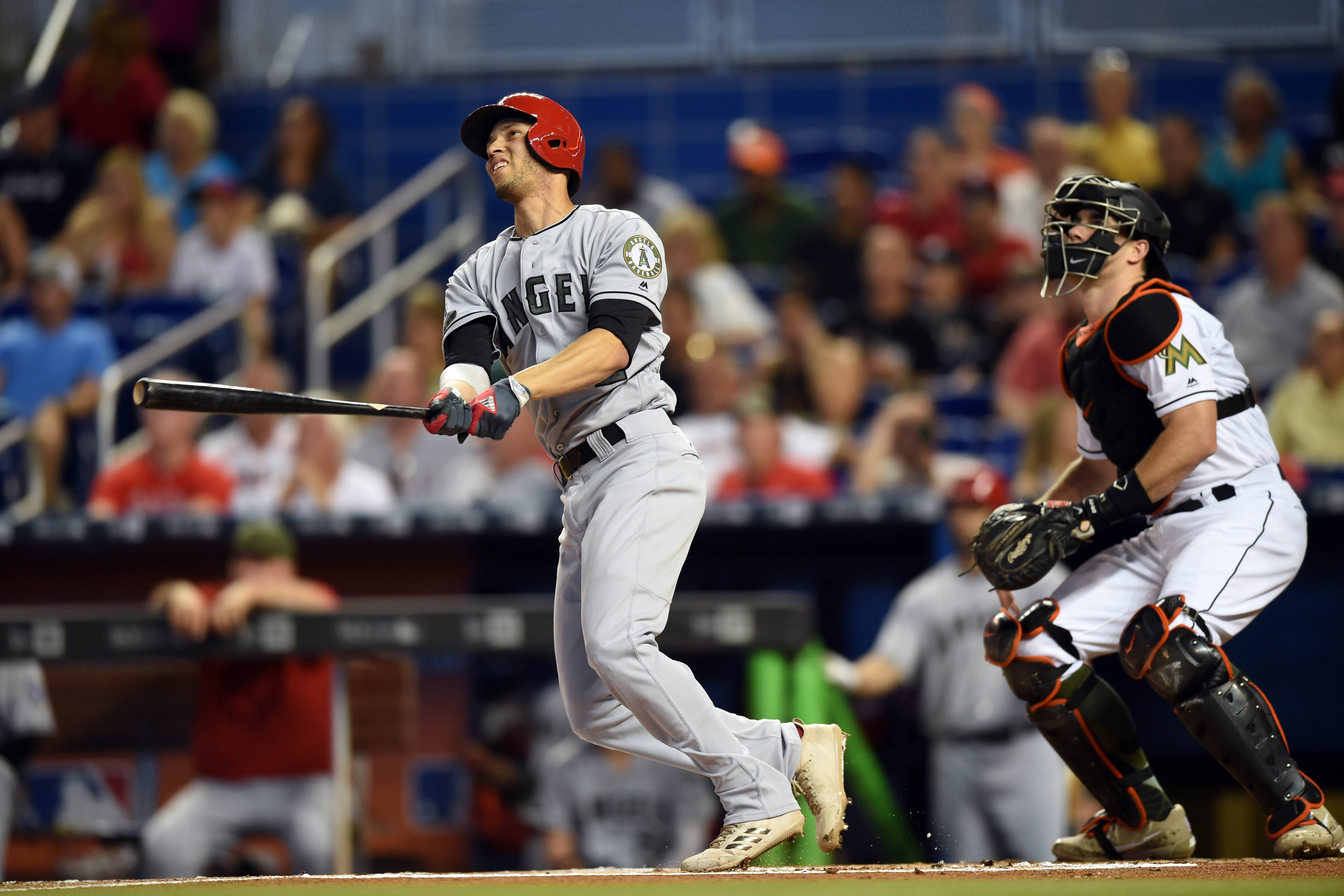 10094138-mlb-los-angeles-angels-at-miami-marlins