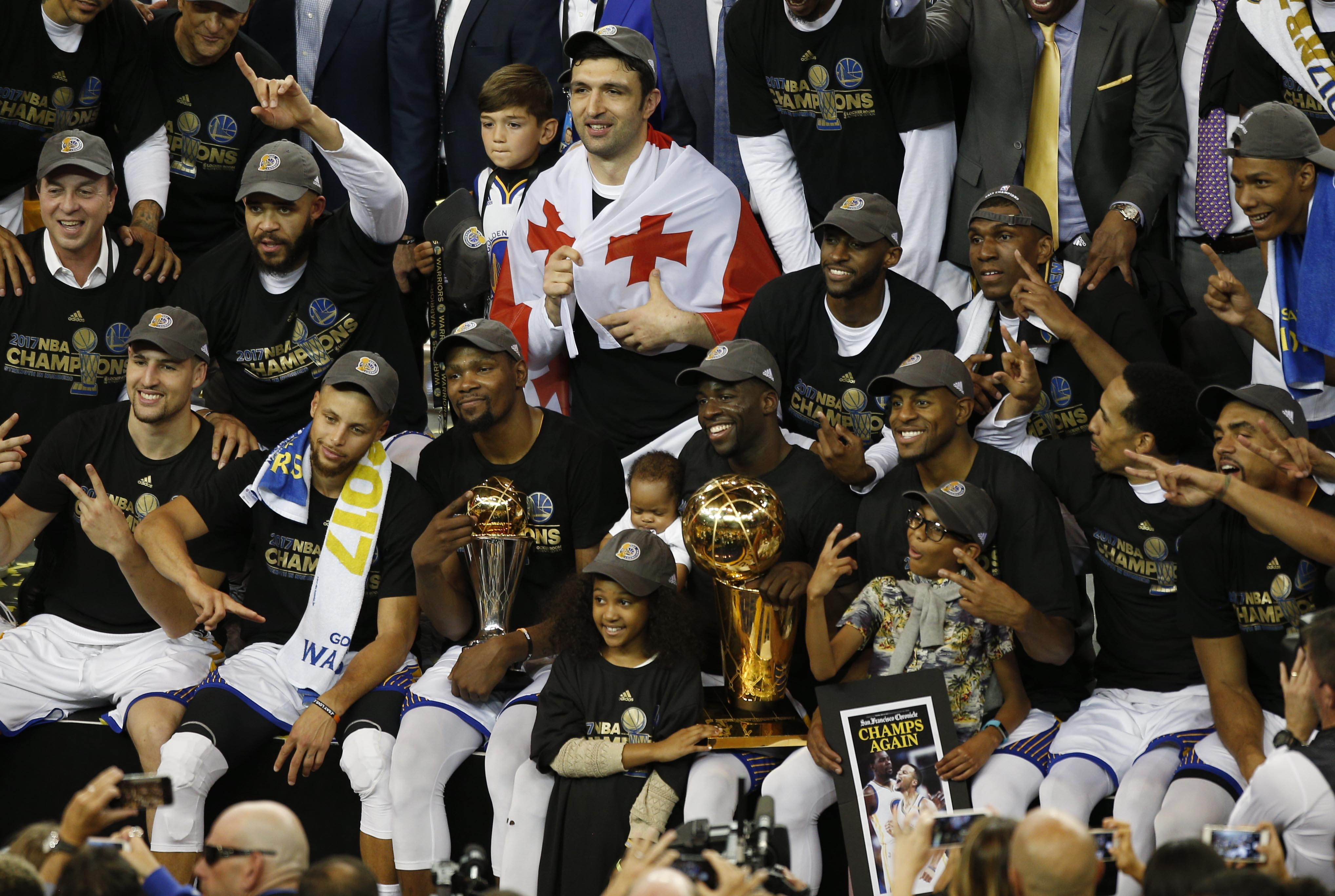 Golden State Warriors are heavy favorites to win the 2018 NBA Title