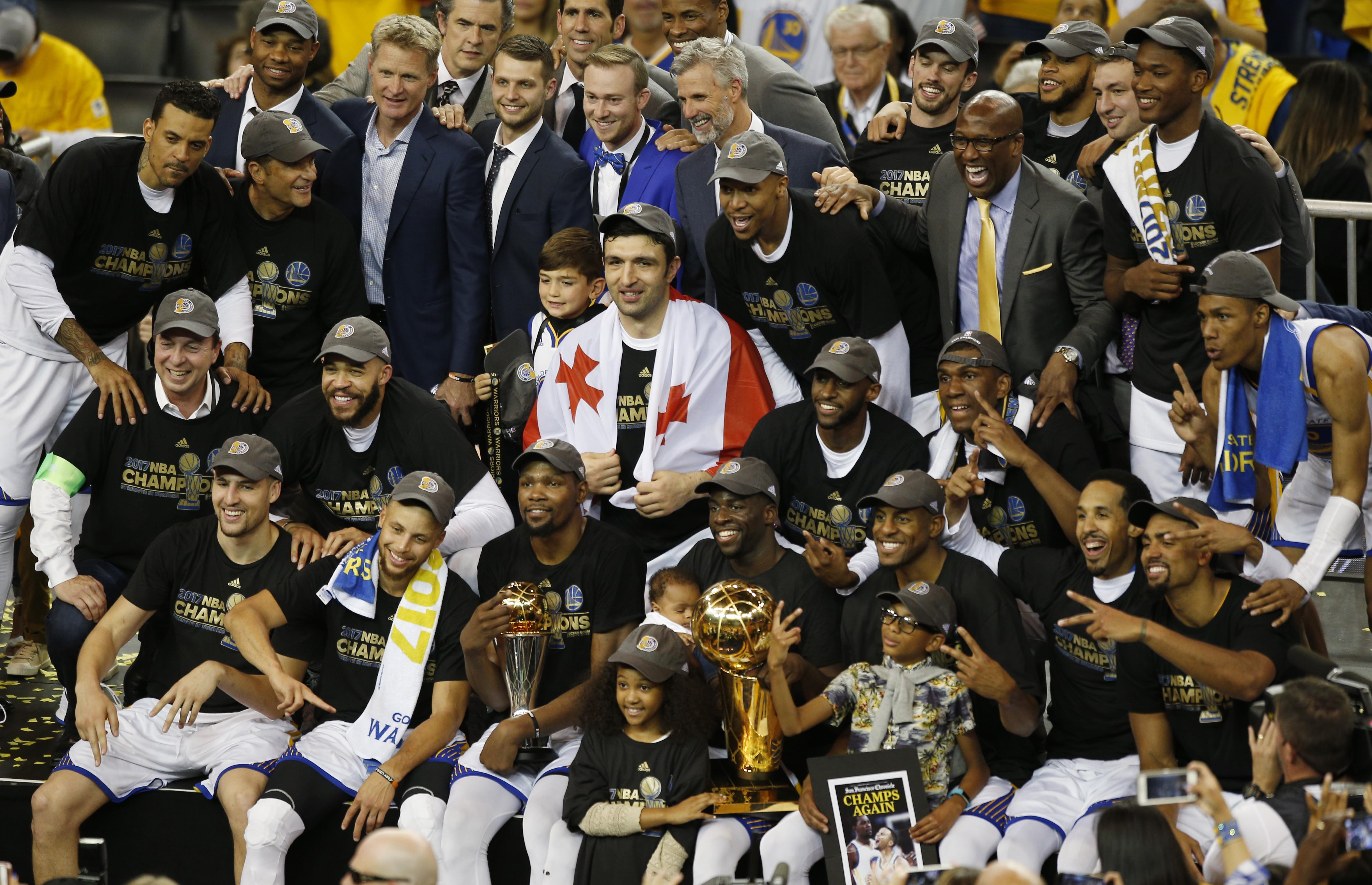 Golden State Warriors: 5 reasons they'll repeat as NBA ...