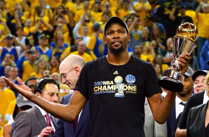 NBA Finals: Kevin Durant electric in Game 5 series clincher