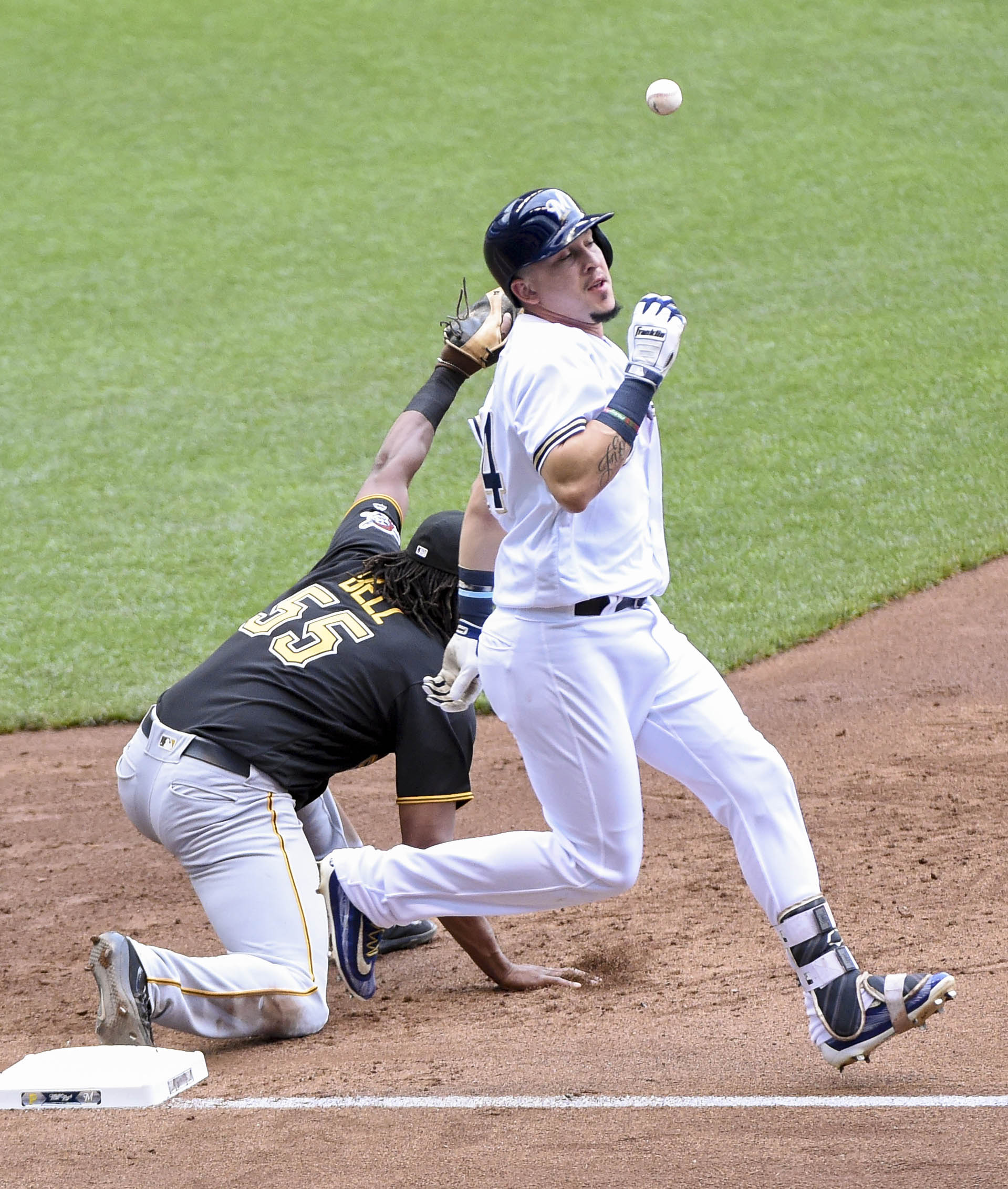 Milwaukee Brewers V Pittsburgh Pirates: Pittsburgh Pirates Miss Big Opportunity Vs Brewers