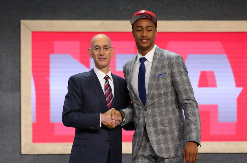 John Collins was selected with the 19th pick in the 2017 NBA Draft by the Atlanta Hawks