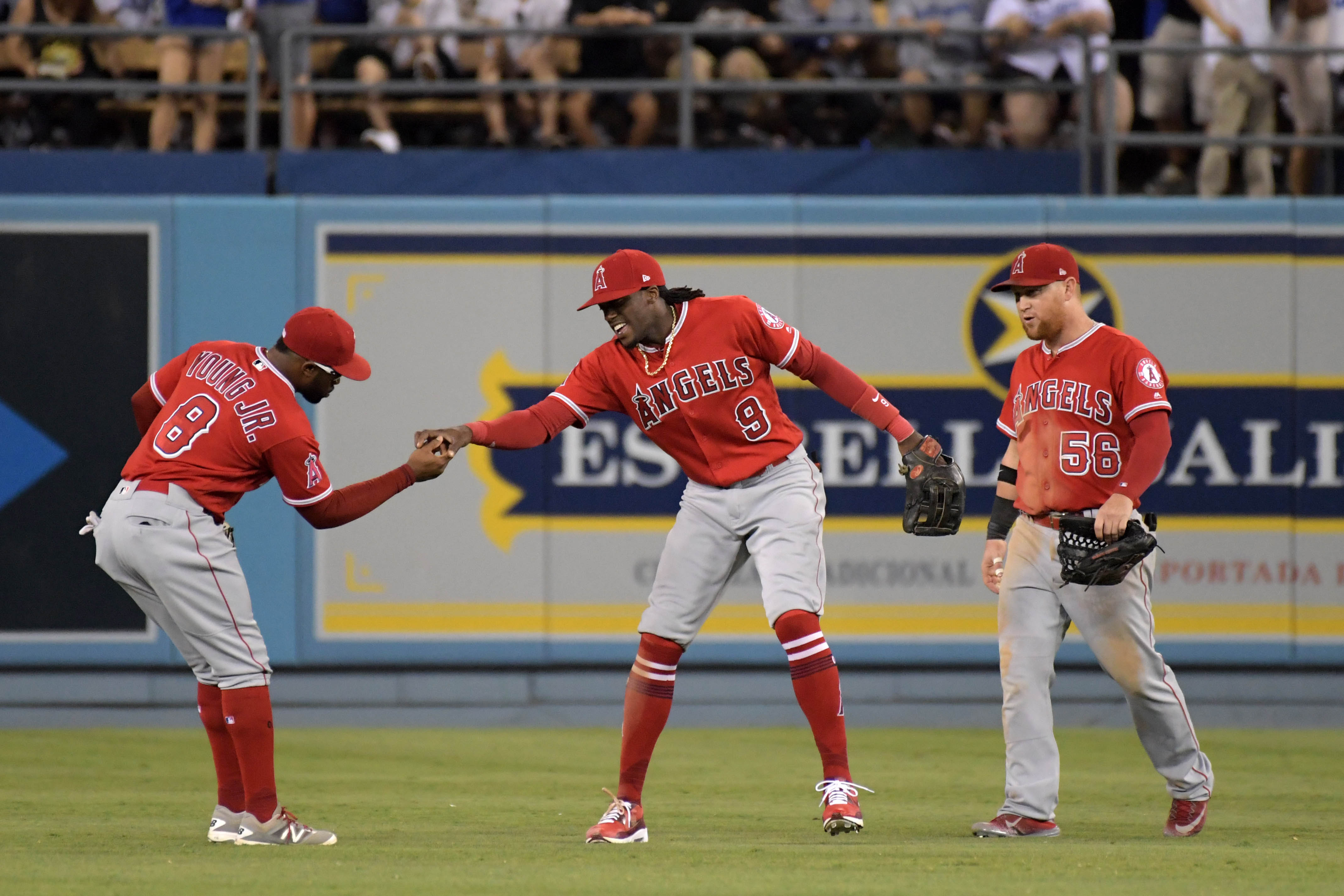 10132365-mlb-los-angeles-angels-at-los-angeles-dodgers