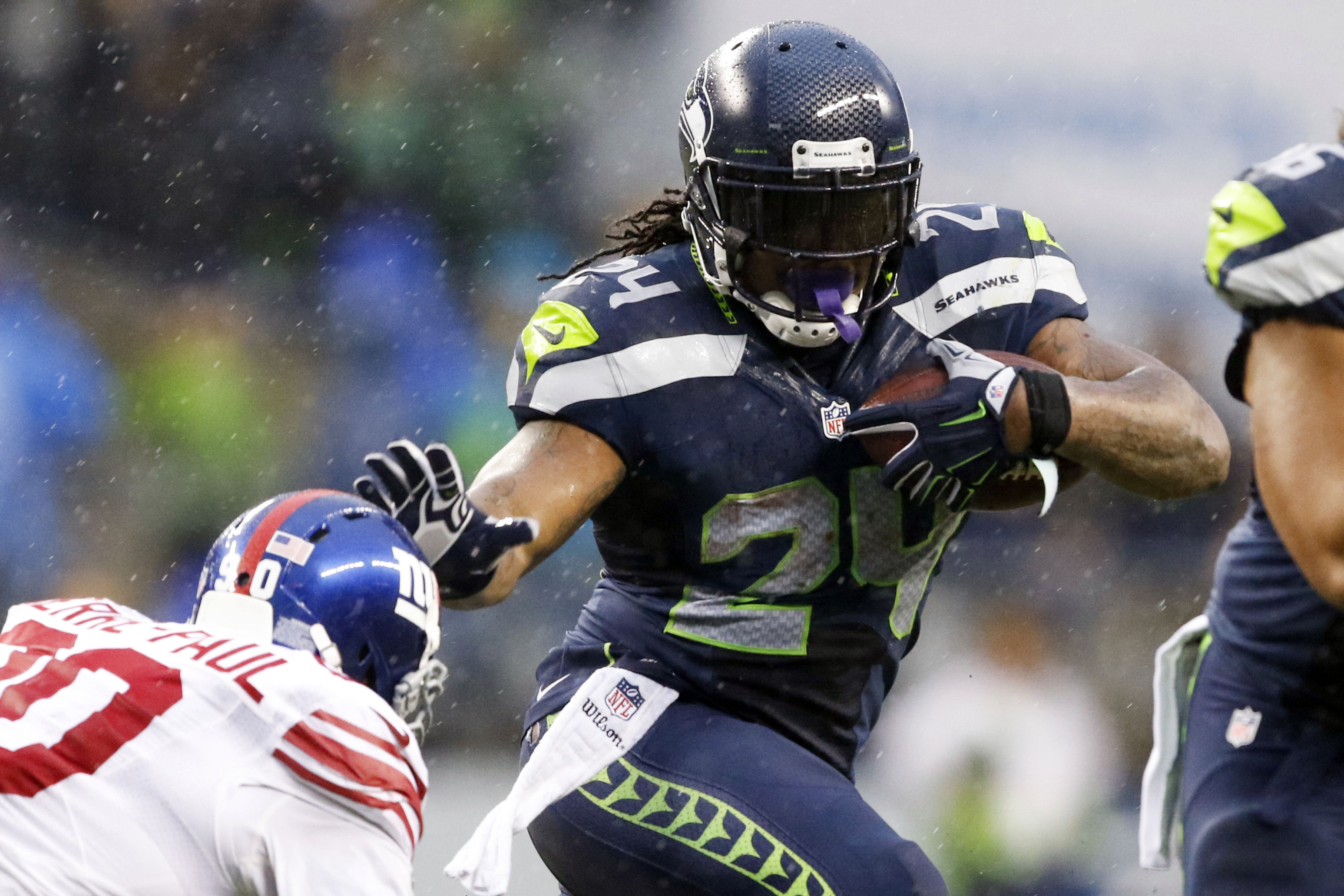 Nfl York Giants Seattle Seahawks Oakland Raiders Cinci Reasons Marshawn Lynch Missing Piece