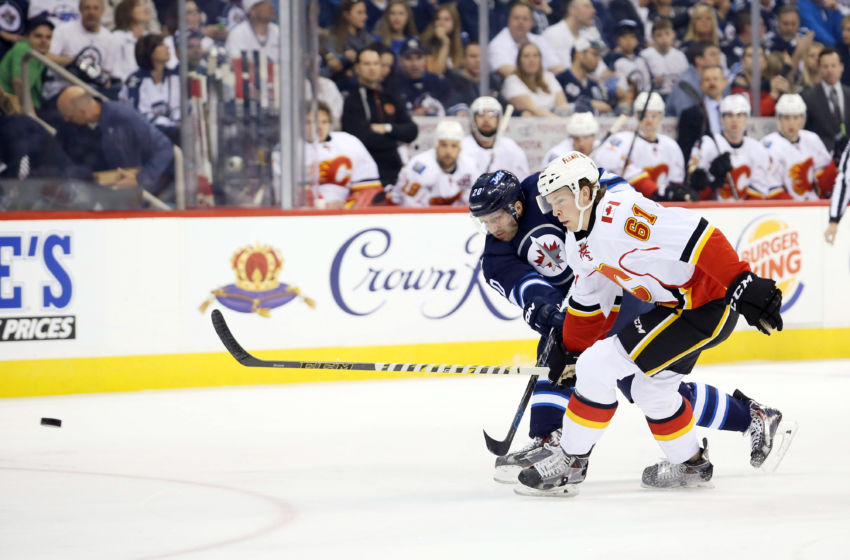 NHL: Calgary Flames at Winnipeg Jets