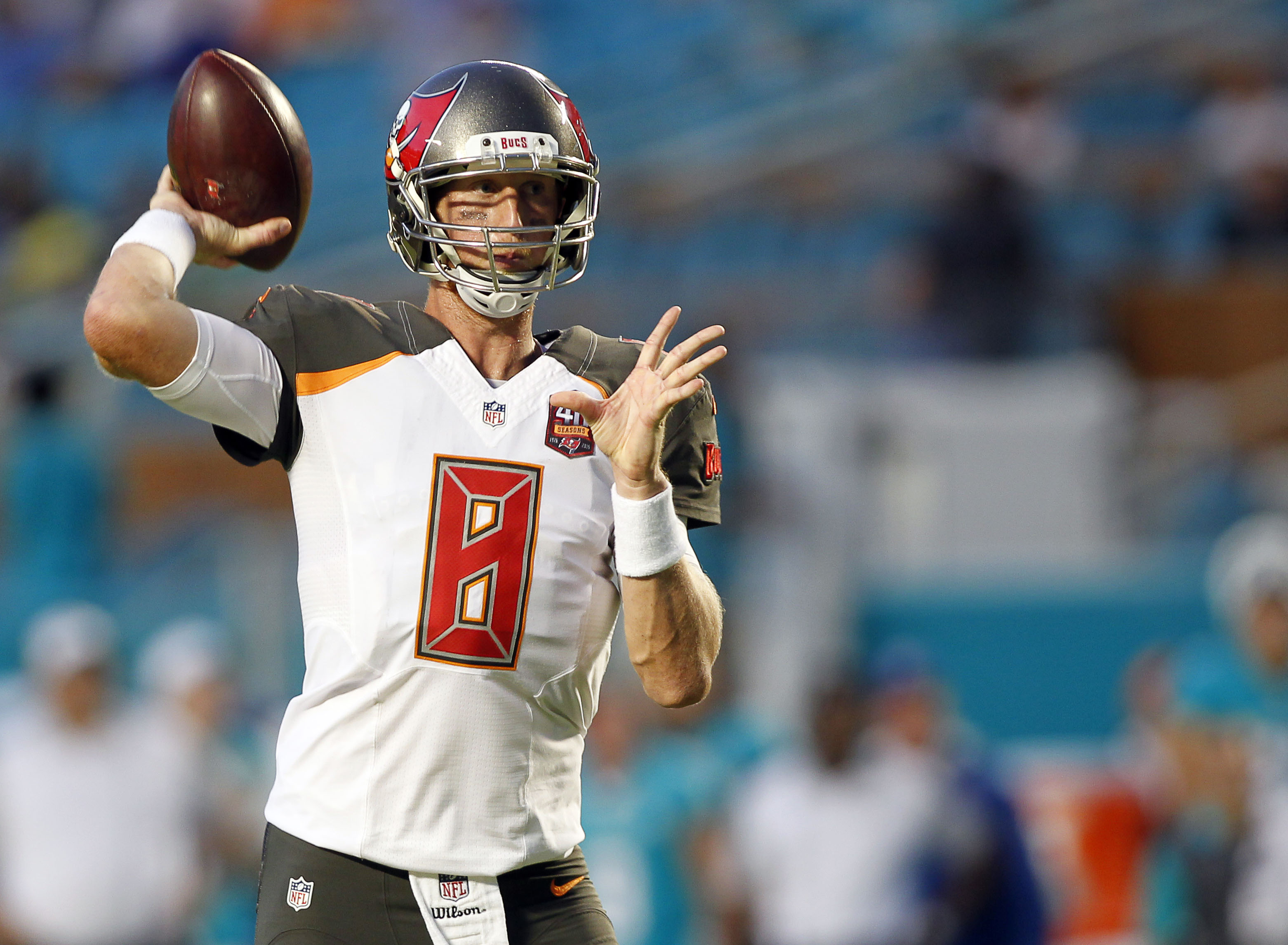 NFL: Preseason-Tampa Bay Buccaneers at Miami Dolphins