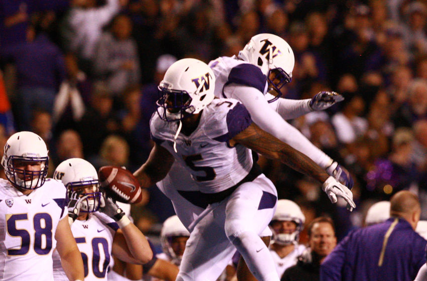 NCAA Football: Washington at Boise State