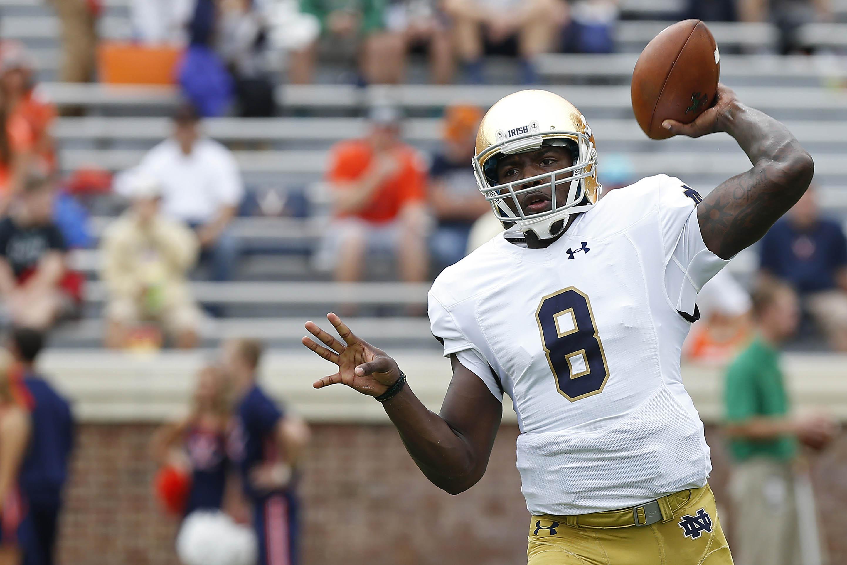Notre Dame Football: We're still waiting on Malik Zaire's ...