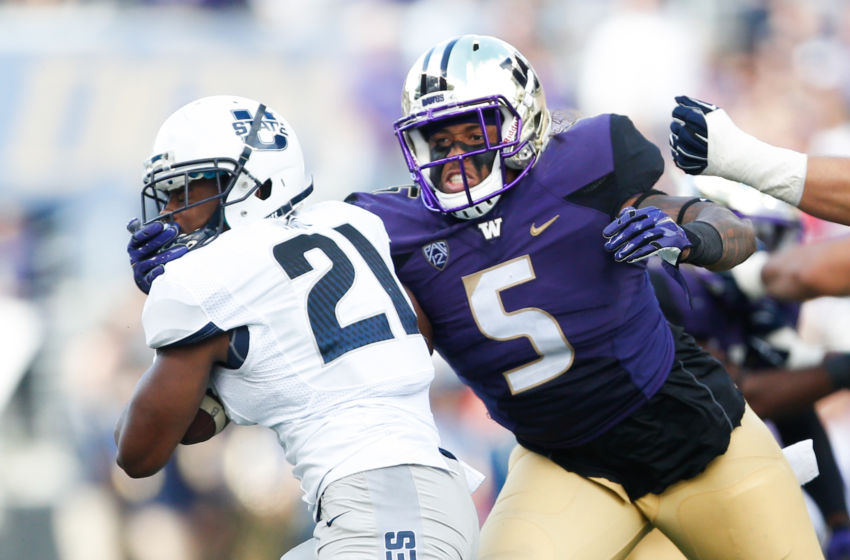 NCAA Football: Utah State at Washington