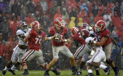 NCAA Football: Alabama at Georgia