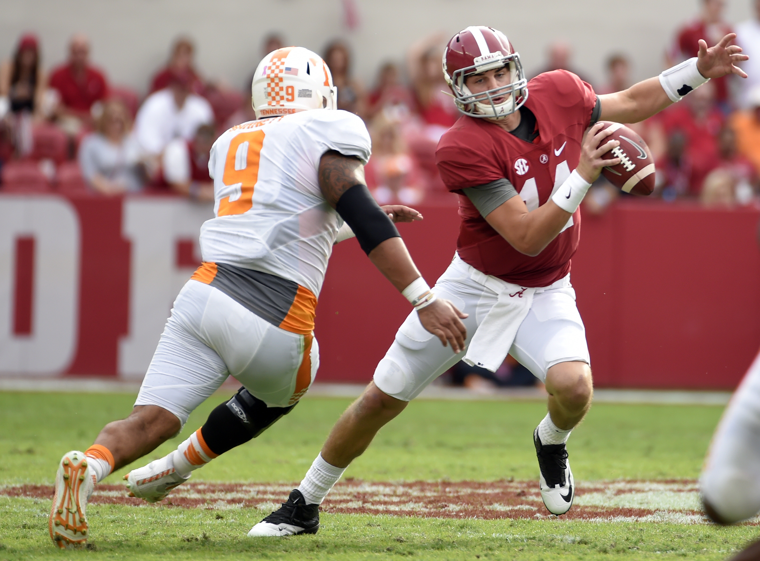NCAA Football: Tennessee at Alabama