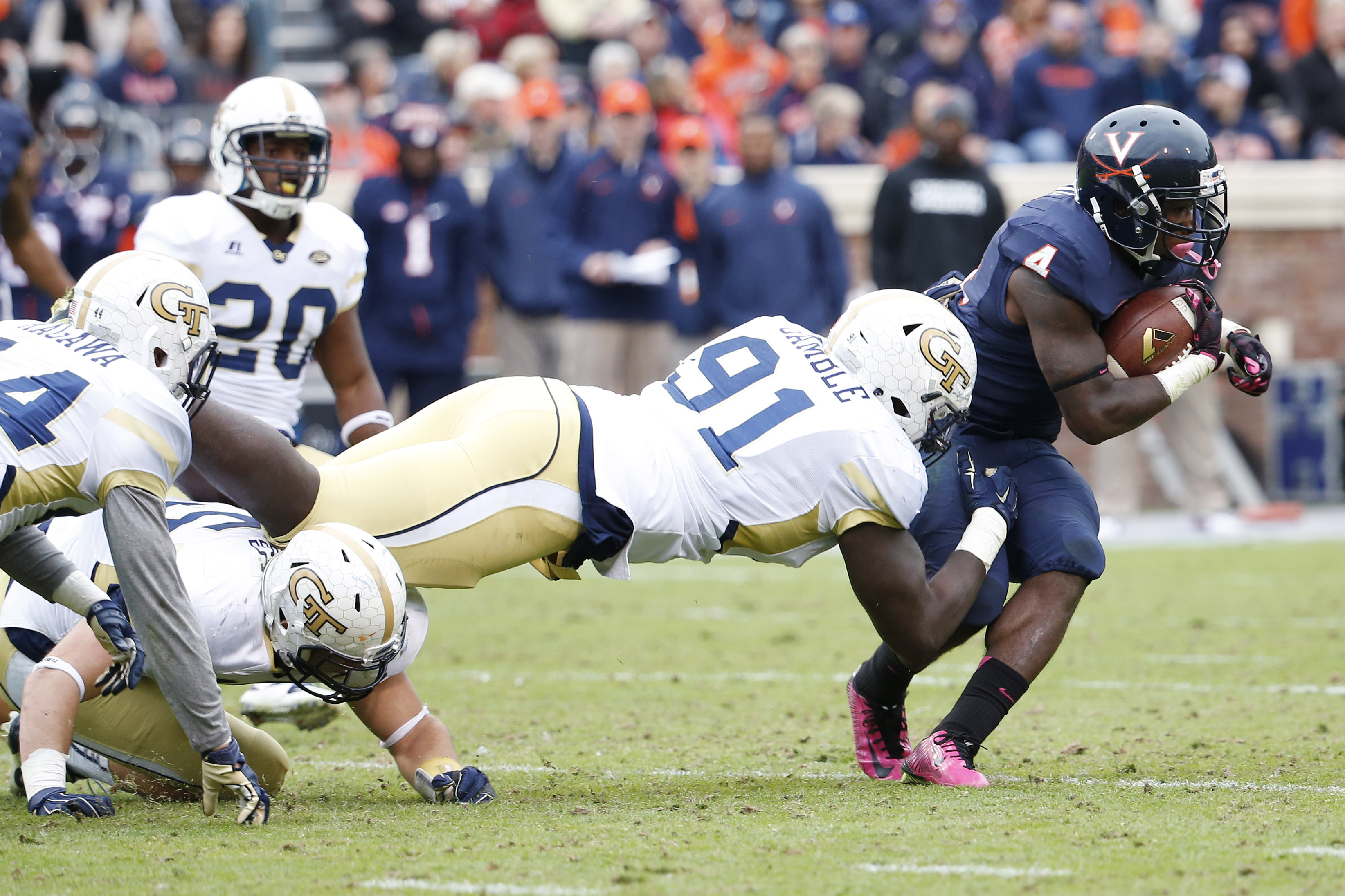 football georgia tech yellow players jets jackets roster impact dt undrafted york agents final virginia usa nfl today gamble patrick