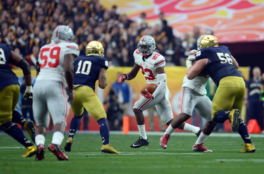 Ncaa Football Fiesta Bowl Notre Dame Ohio State Browns Buckeyes Monday Tyrod Taylor
