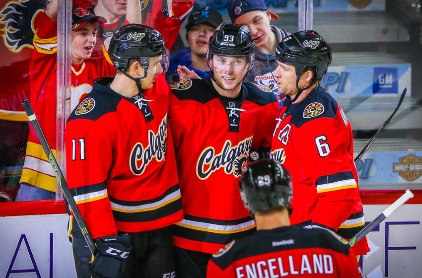 NHL: Florida Panthers at Calgary Flames