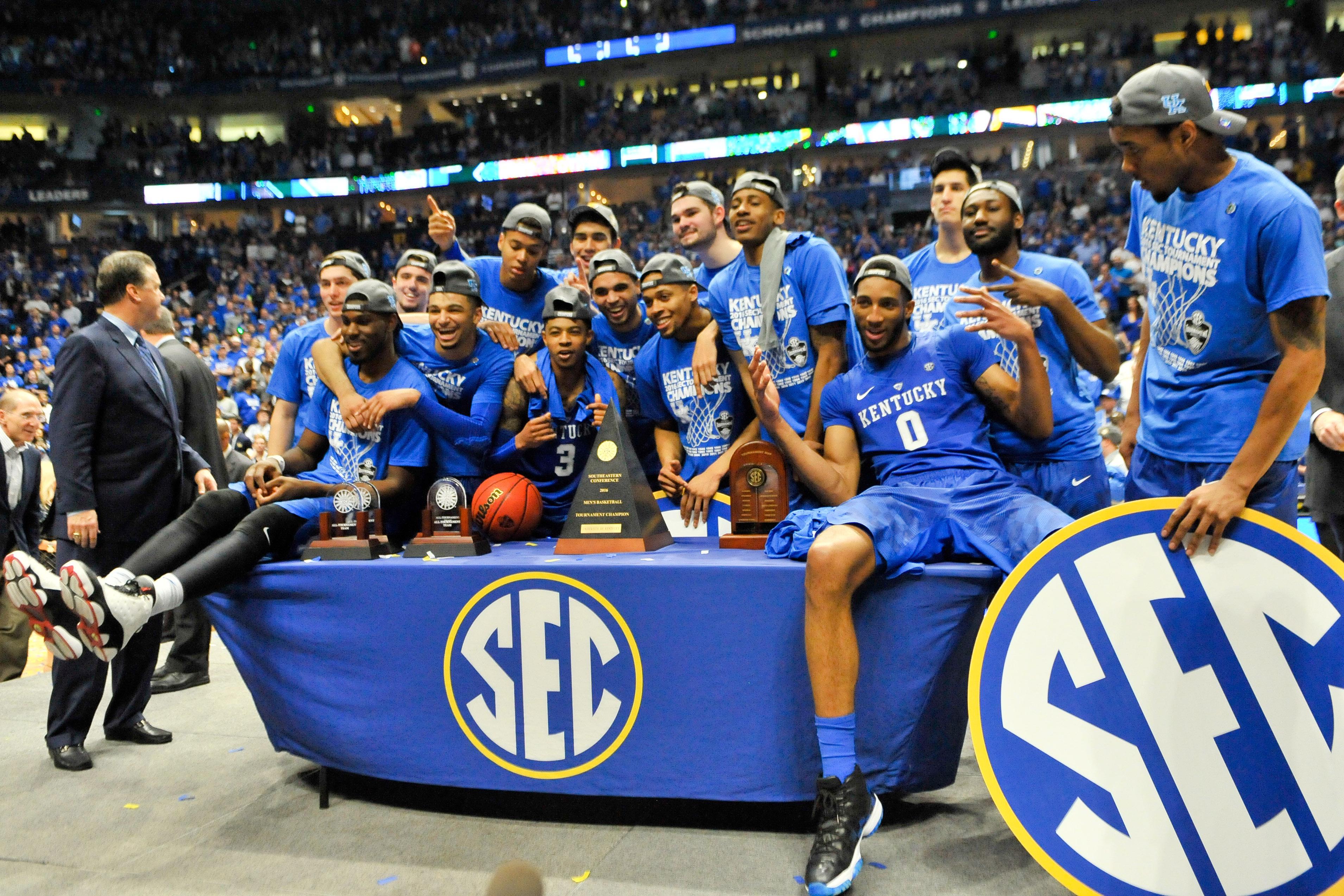 Kentucky Basketball Is An Enigma Well Into The Season: SEC Tournament: Kentucky Basketball Fans Drive Average