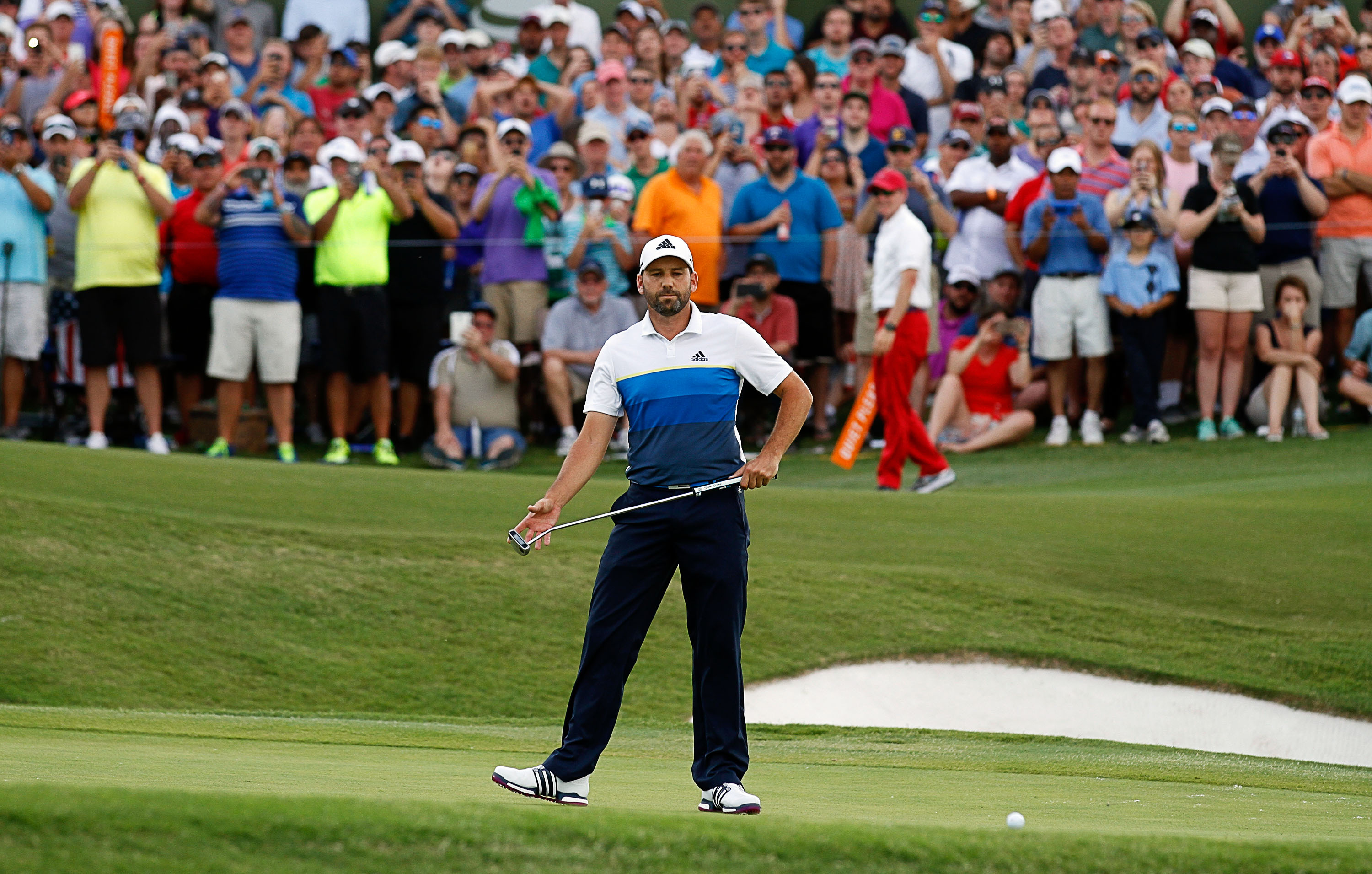 Garcia rediscovers old touch to be in hunt at Players Championship golf