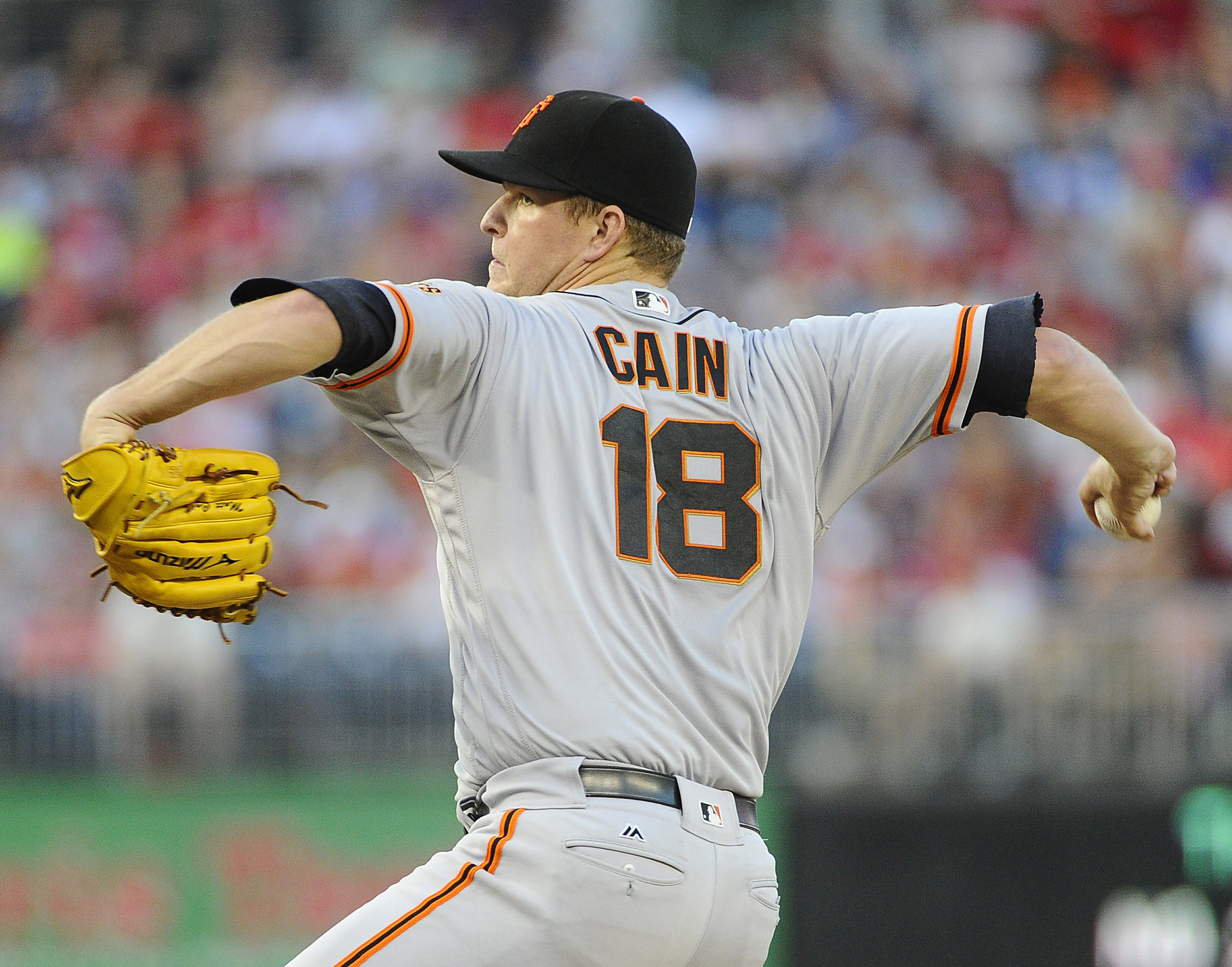 Is Matt Cain the San Francisco Giants fifth starter in 2017?