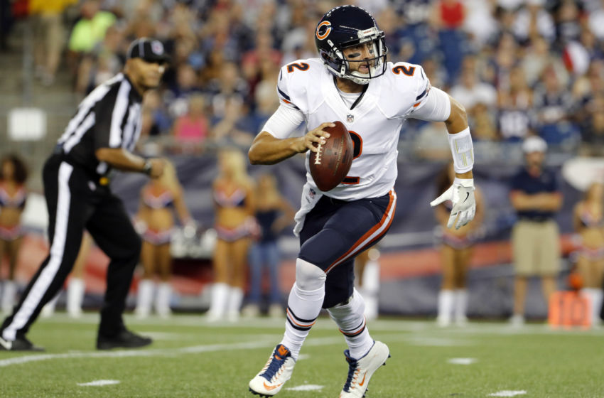 NFL: Preseason-Chicago Bears at New England Patriots