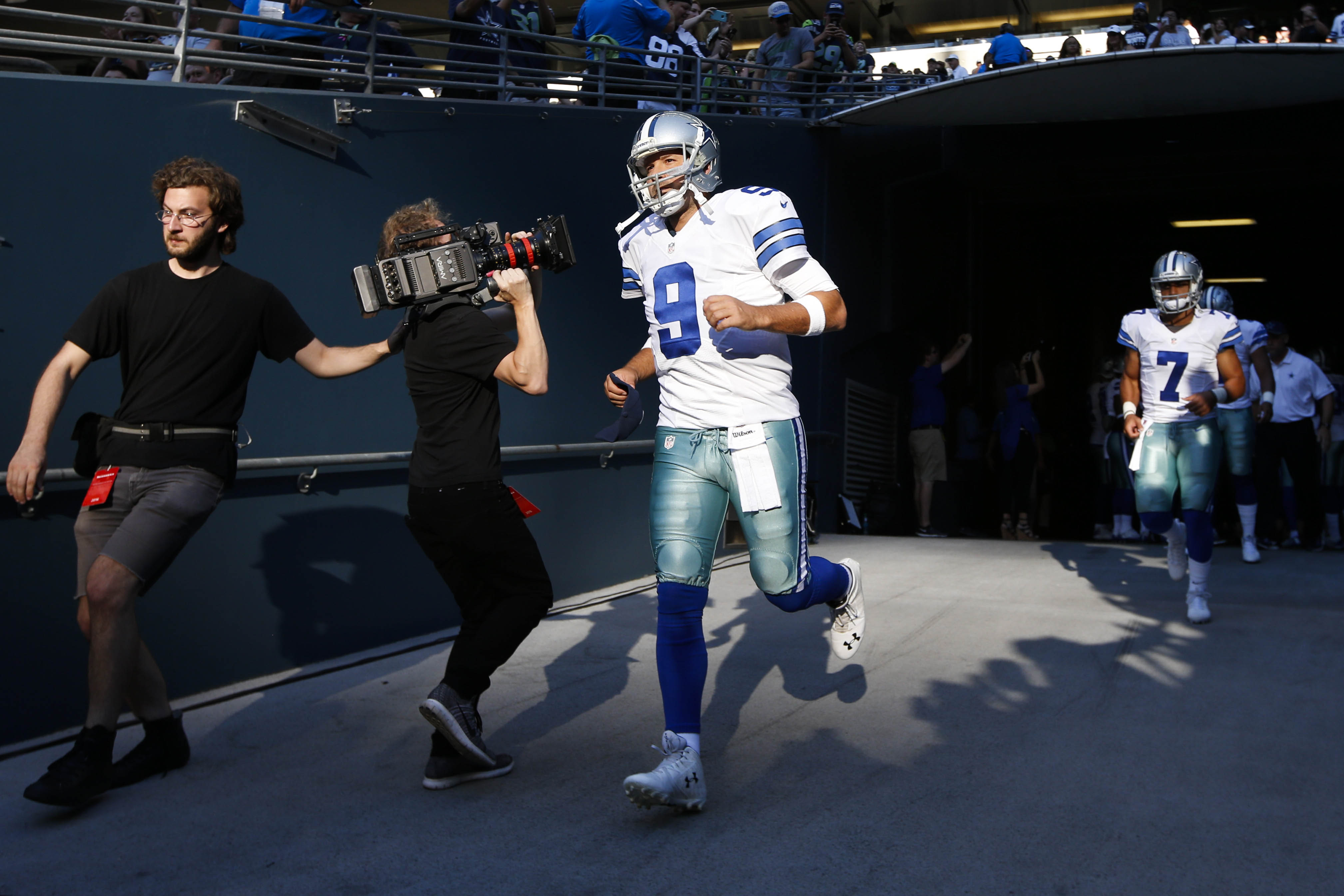 NFL: Preseason-Dallas Cowboys at Seattle Seahawks