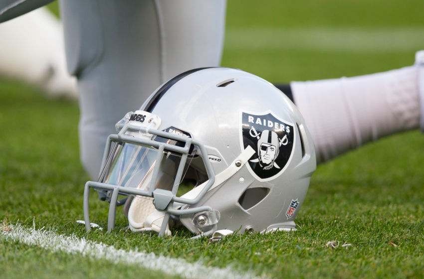 Oakland Raiders helmet